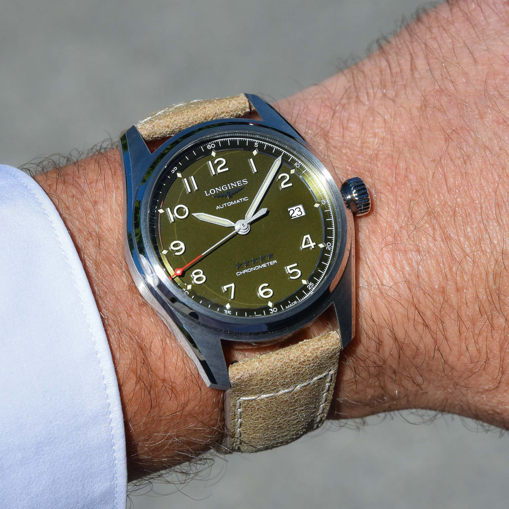 Longines Spirit Green Dial collection 2021