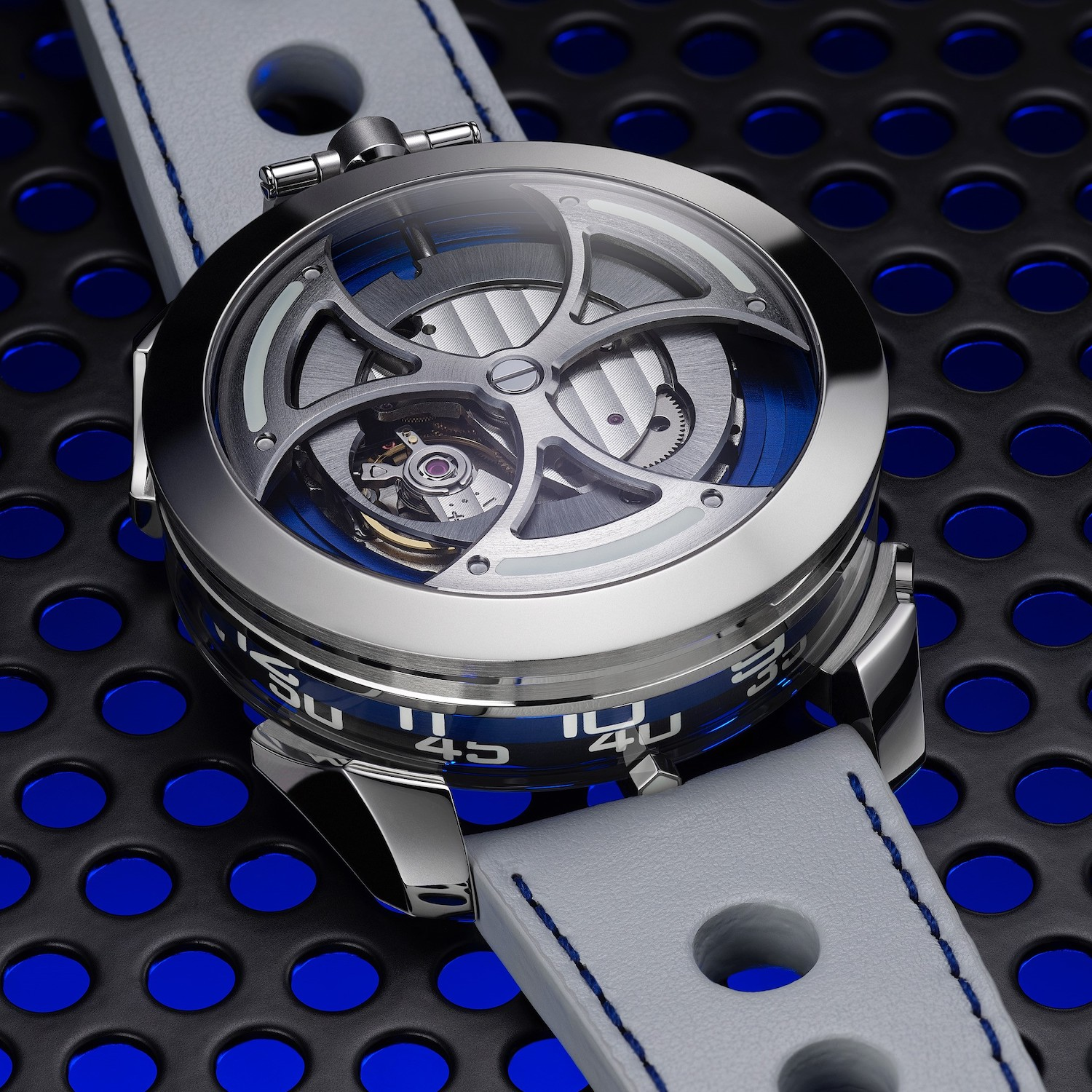M.A.D. EDITION 1 accessible watch Max Busser MBandF - 6