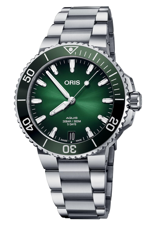 Oris Aquis Date Calibre 400 41.5mm Collection 2021