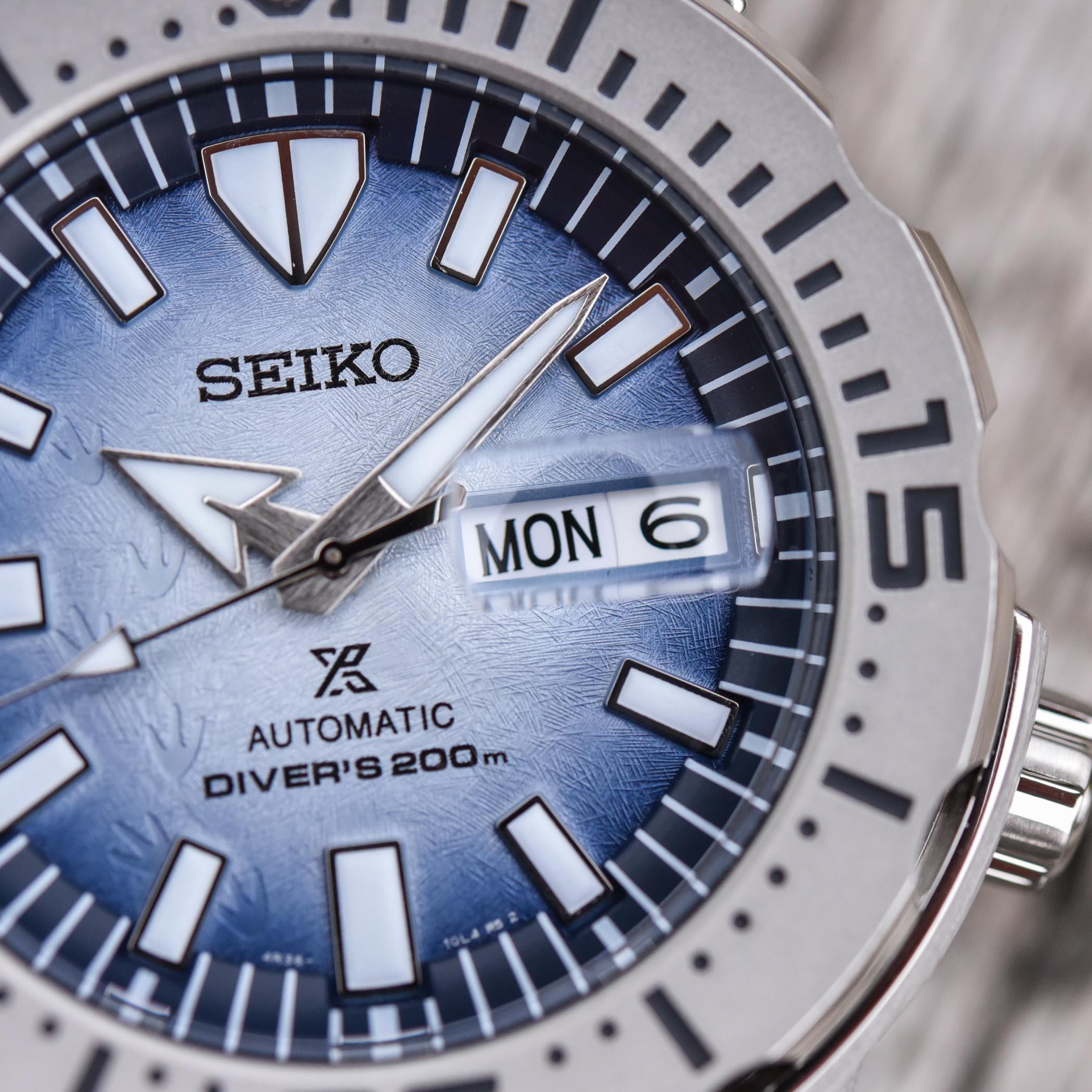 Seiko Prospex Save The Ocean Antarctica Monster SRPG57K1