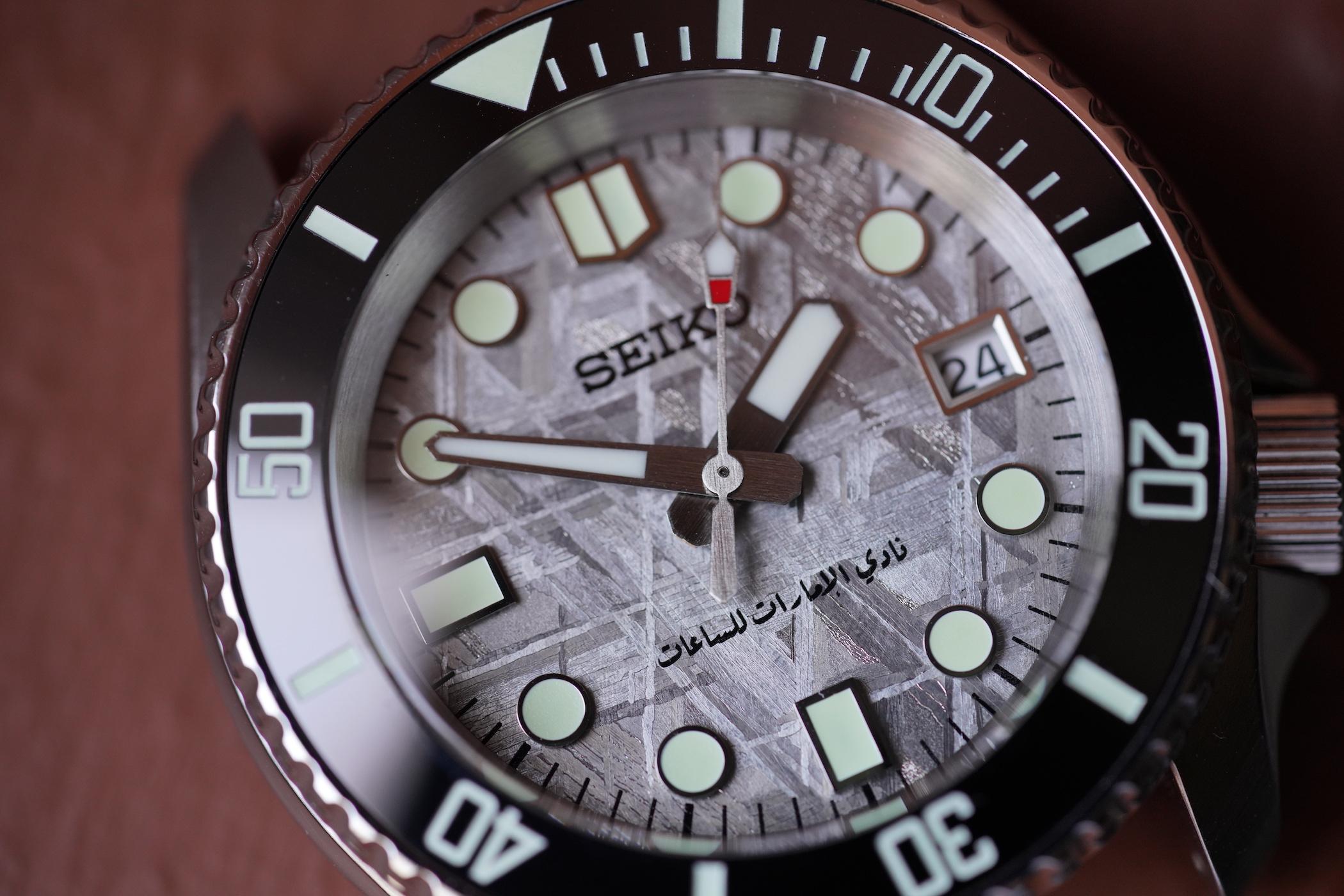 SeikoMod Emirates Watch Club - 1