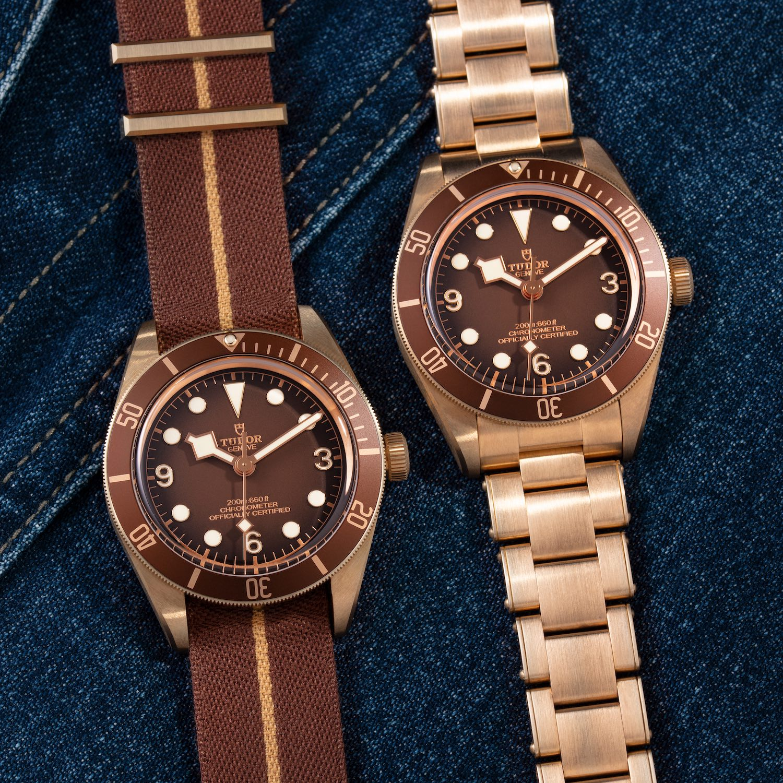 Tudor Black Bay Fifty-Eight Bronze M79012M boutique edition