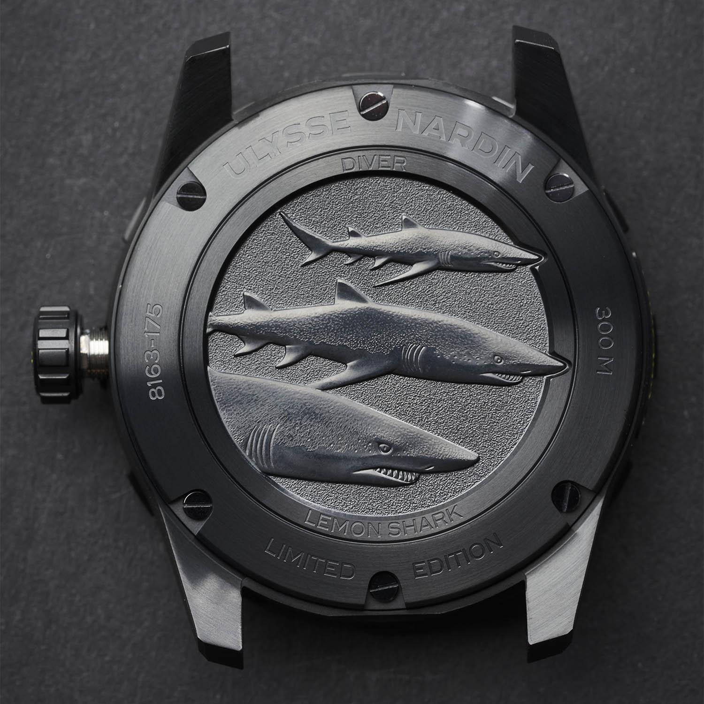 Ulysse Nardin Diver Lemon Shark Limited Edition