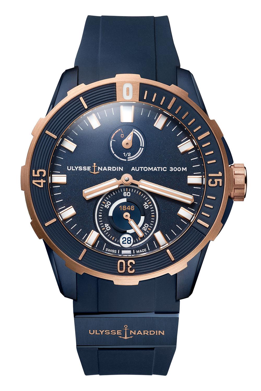 Ulysse Nardin Diver chronometer 44mm 1185-170-3:BLUE - 2021 - 1