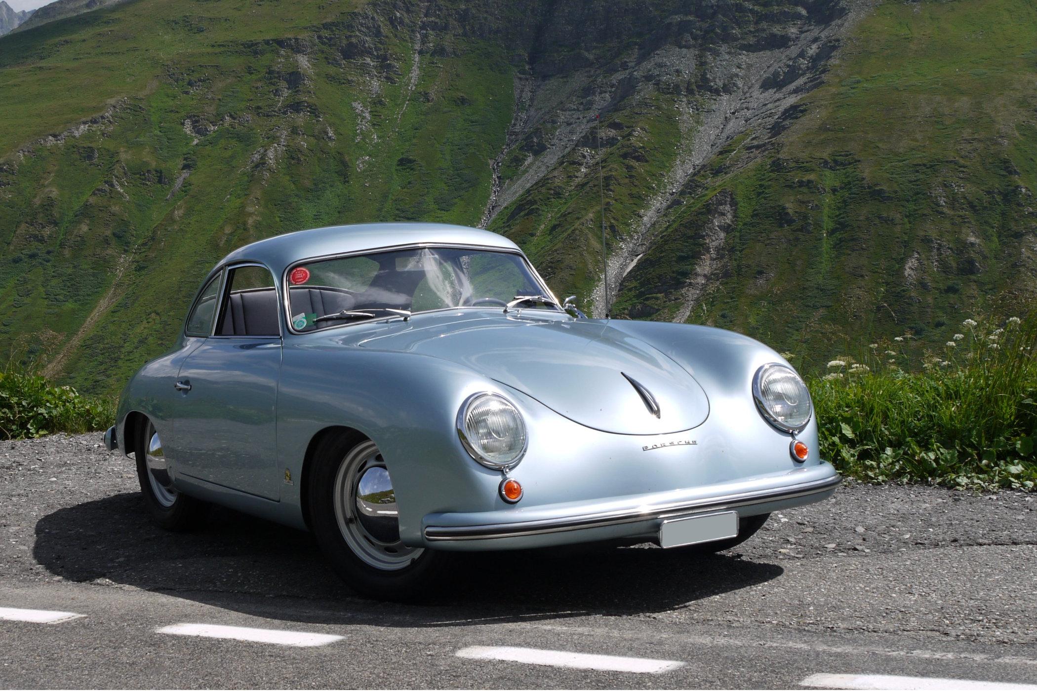 A 1954 Porsche 356 pre-A model
