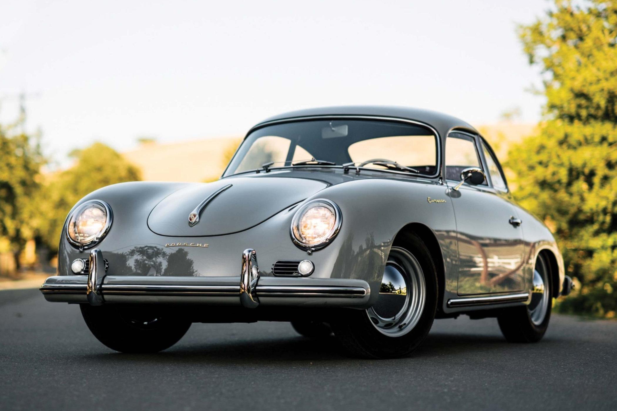 A European 1956 Porsche 356A