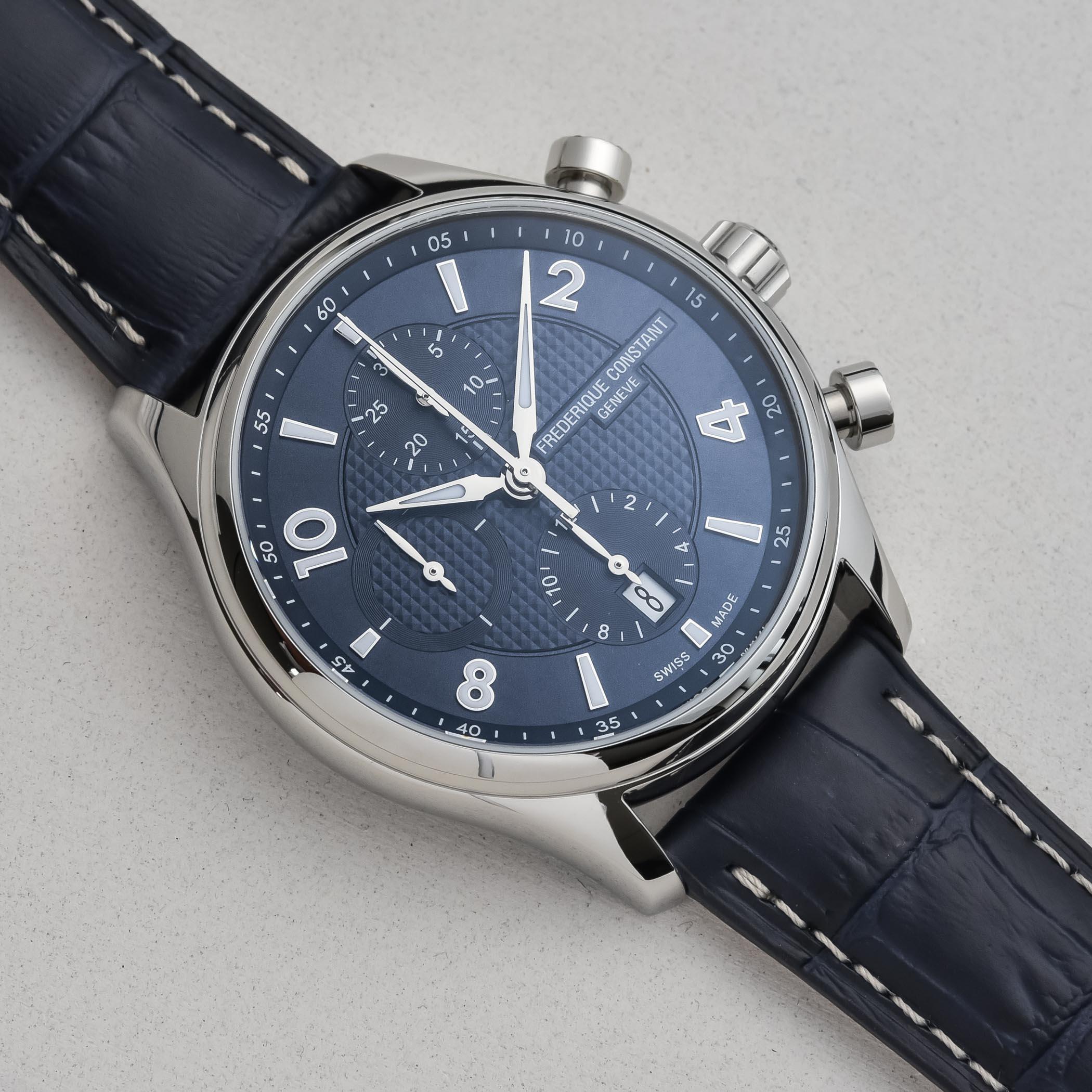 2021 Frederique Constant Runabout Chronograph Automatic
