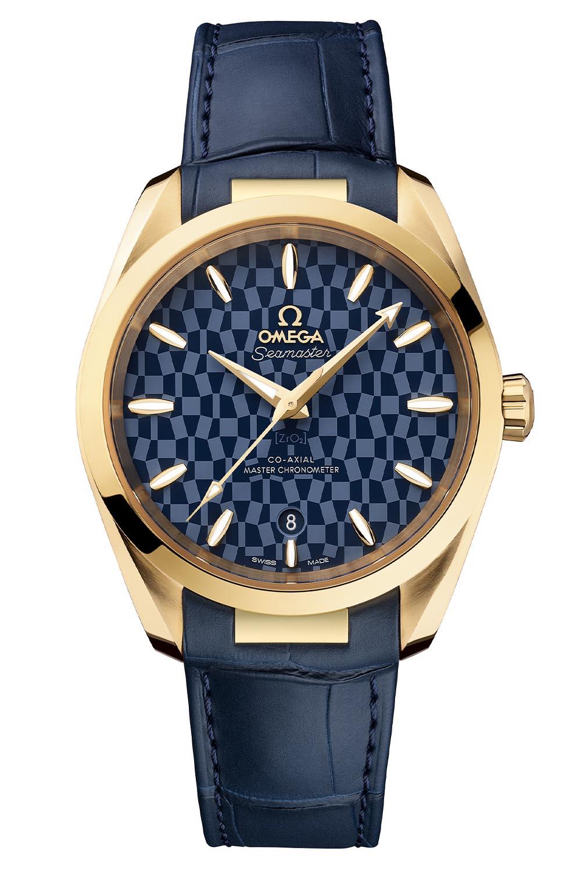 522-53-38-20-03-001 Omega Seamaster Aqua Terra Tokyo 2020 gold - 4