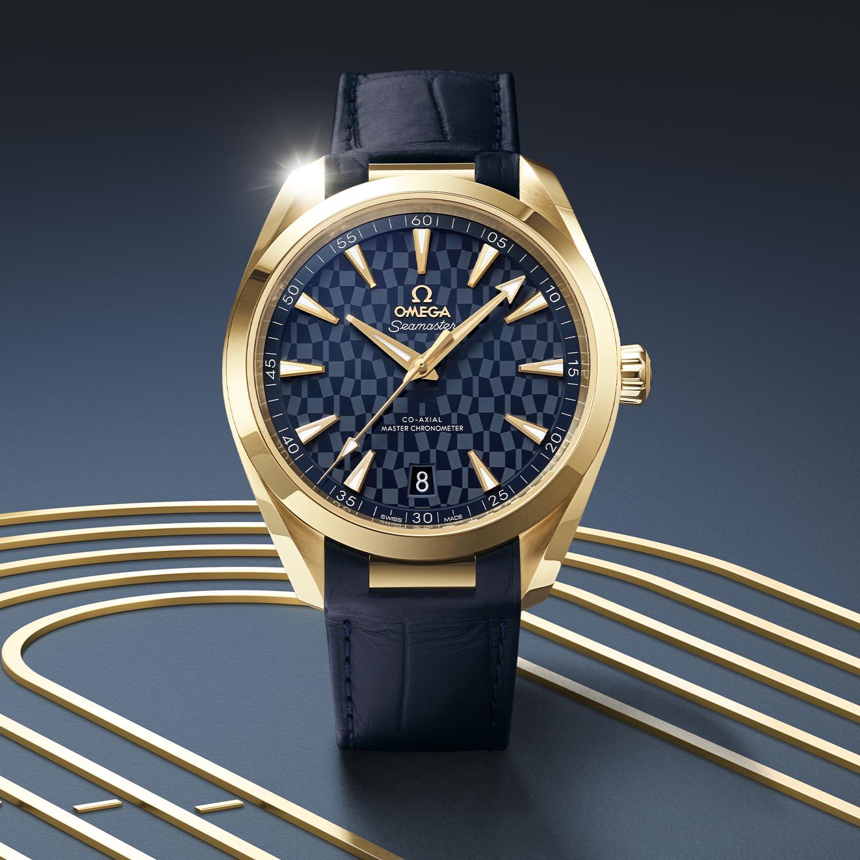 522-53-41-21-03-001 Omega Seamaster Aqua Terra Tokyo 2020 gold - 1
