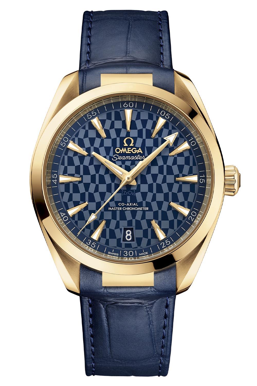 522-53-41-21-03-001 Omega Seamaster Aqua Terra Tokyo 2020 gold - 4