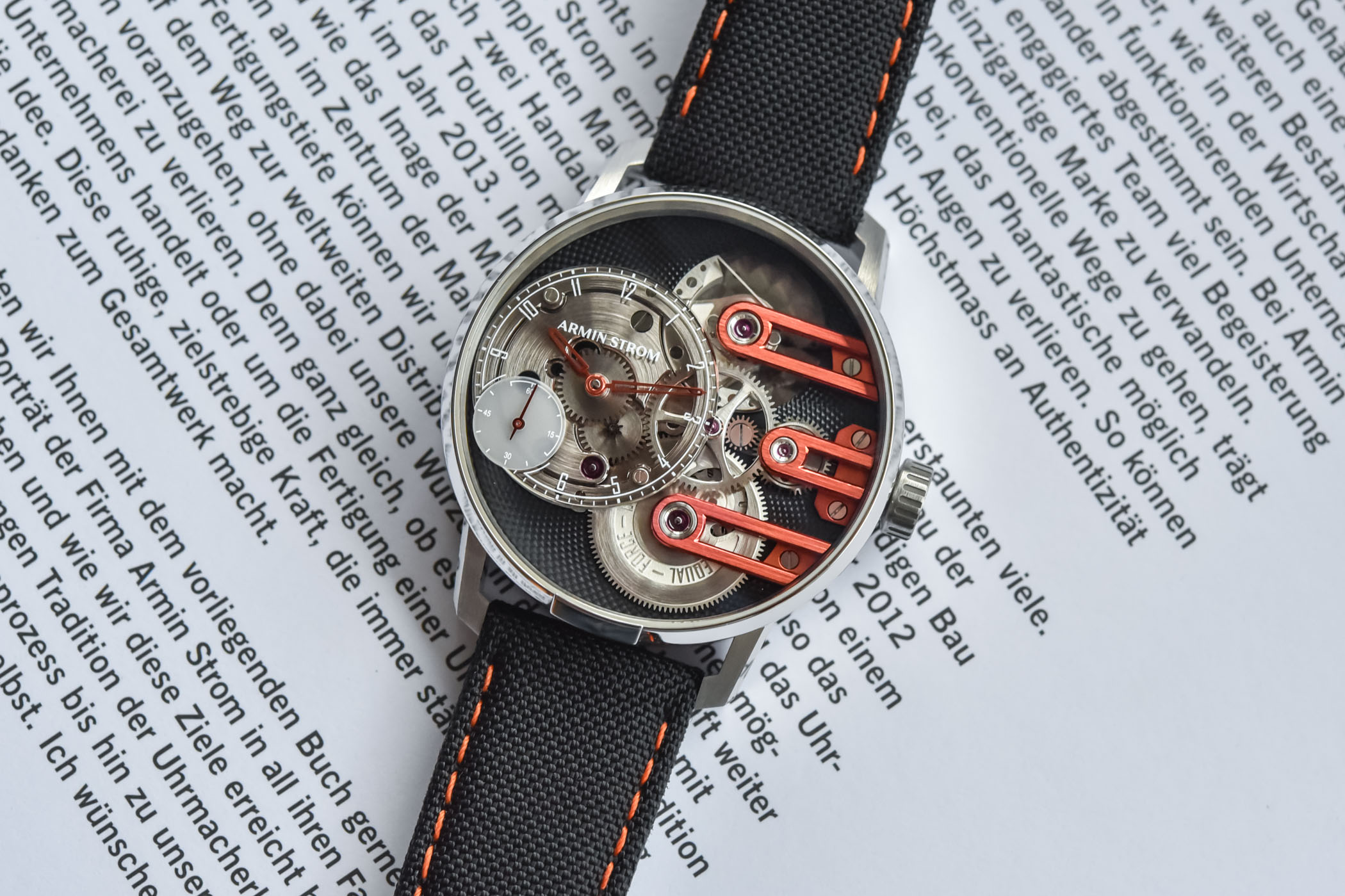 Armin Strom Gravity Equal Force For Only Watch 2021