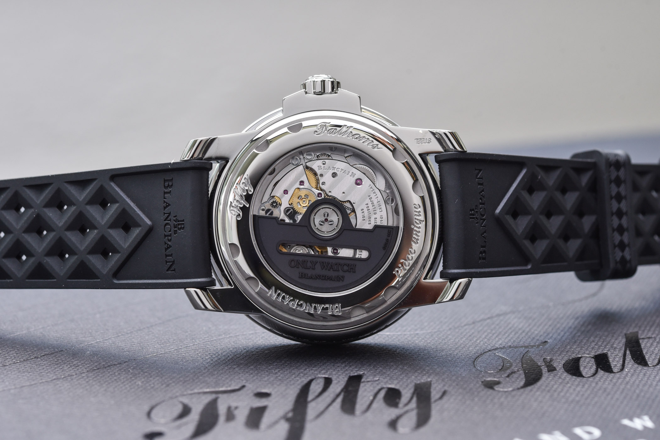 Blancpain Tribute to Fifty Fathoms No Rad for Only Watch 2021