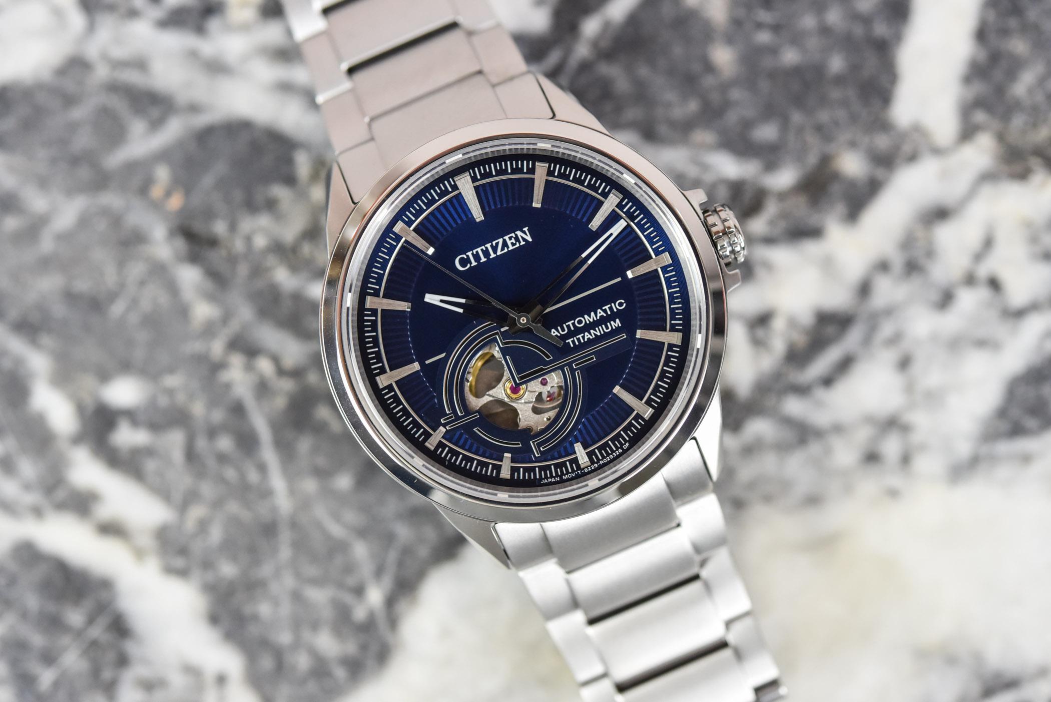 Citizen Super Titanium Mechanical NH9120-88L - Review - 1