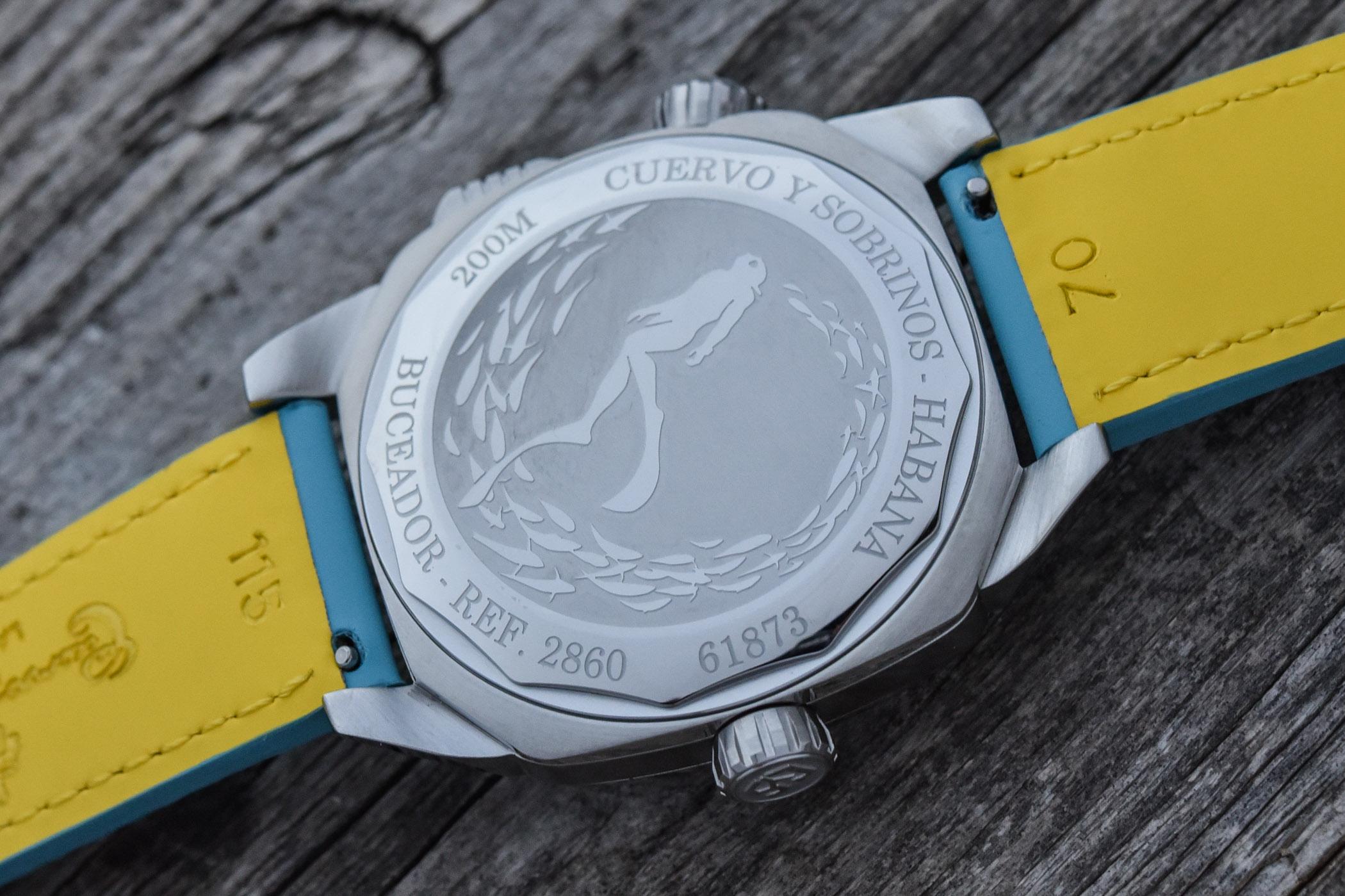 Cuervo y Sobrinos Buceador Caribe collection