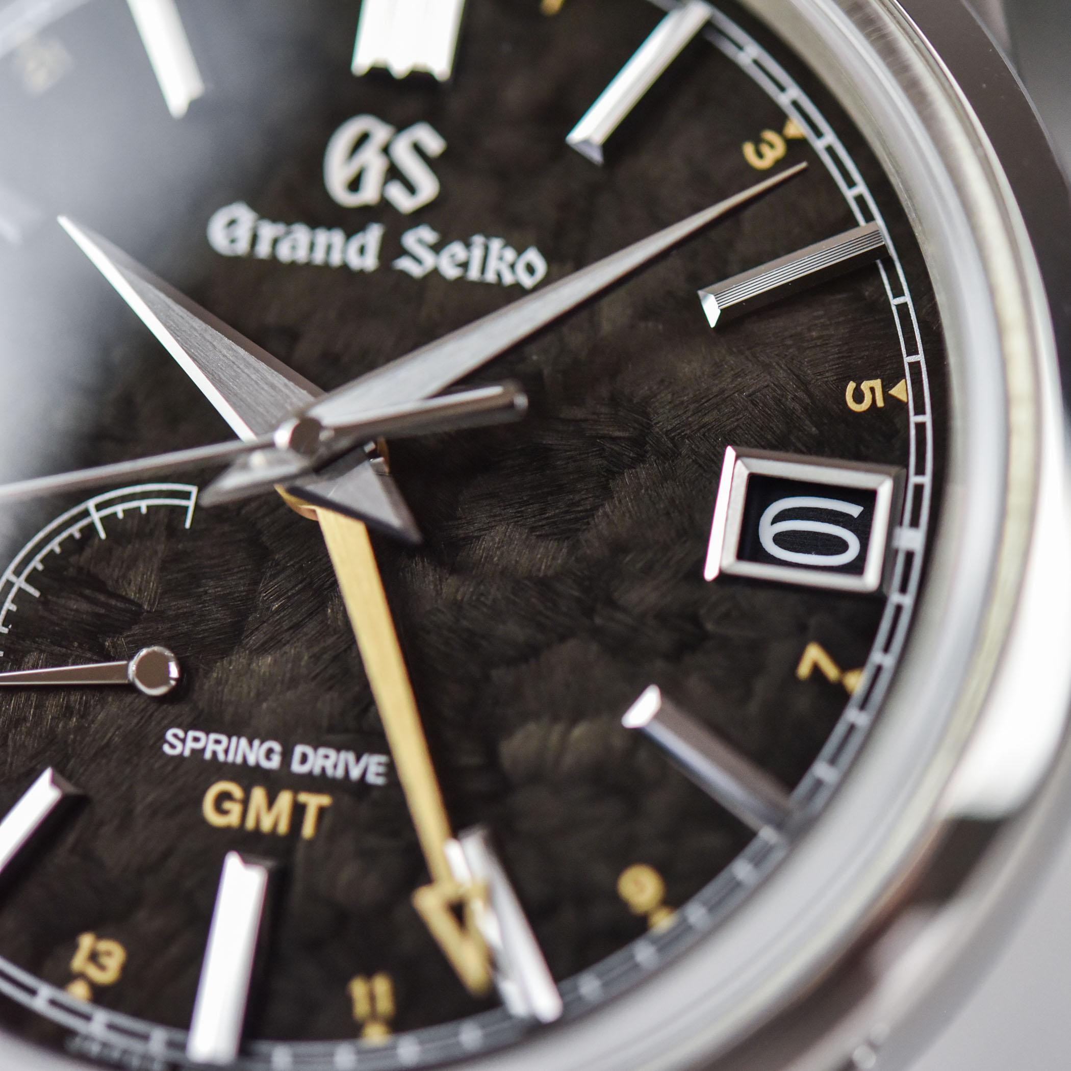 Grand Seiko Elegance GMT Spring Drive 4 seasons collection SBGE271