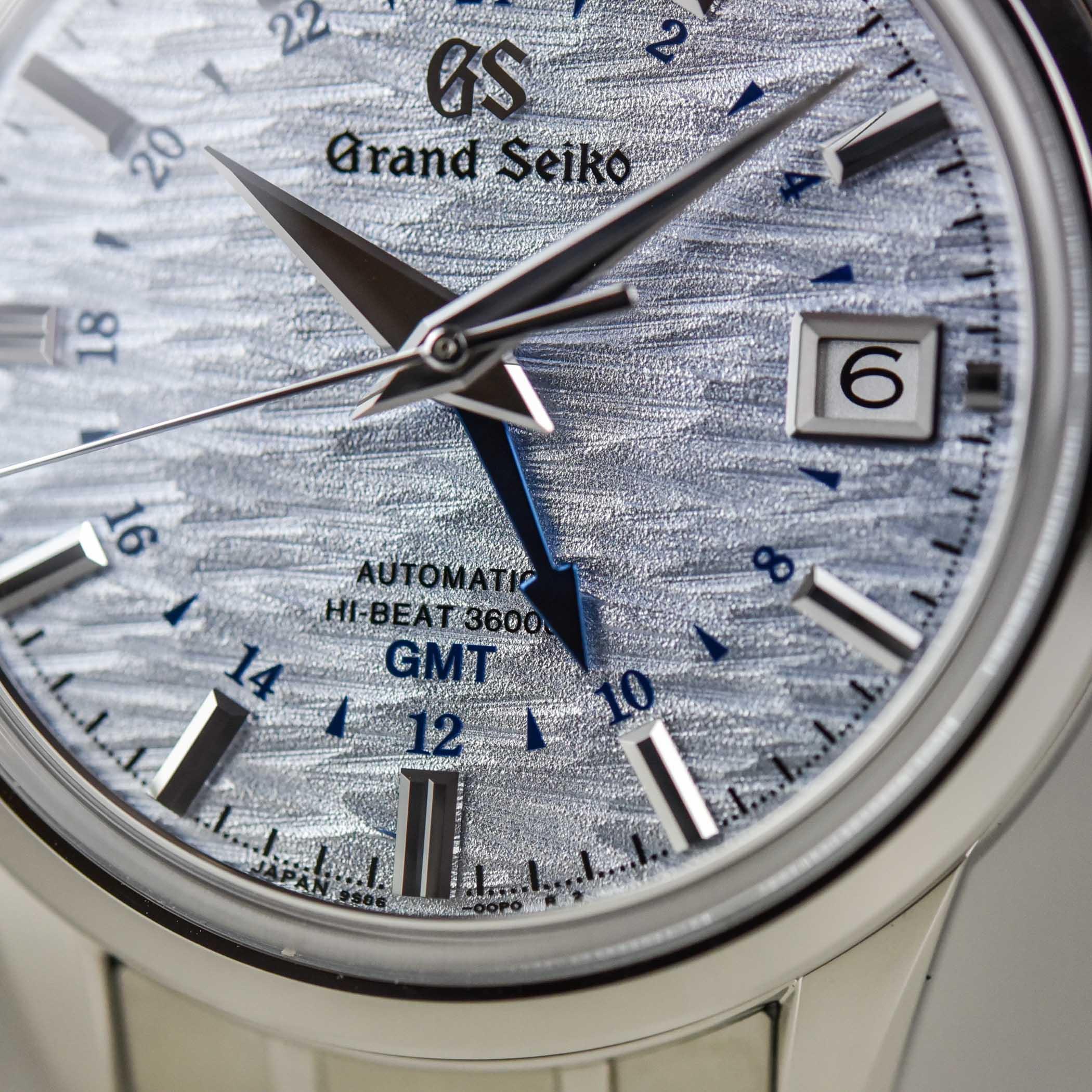 Grand Seiko Elegance GMT Hi-Beat 4 seasons collection SBGJ249