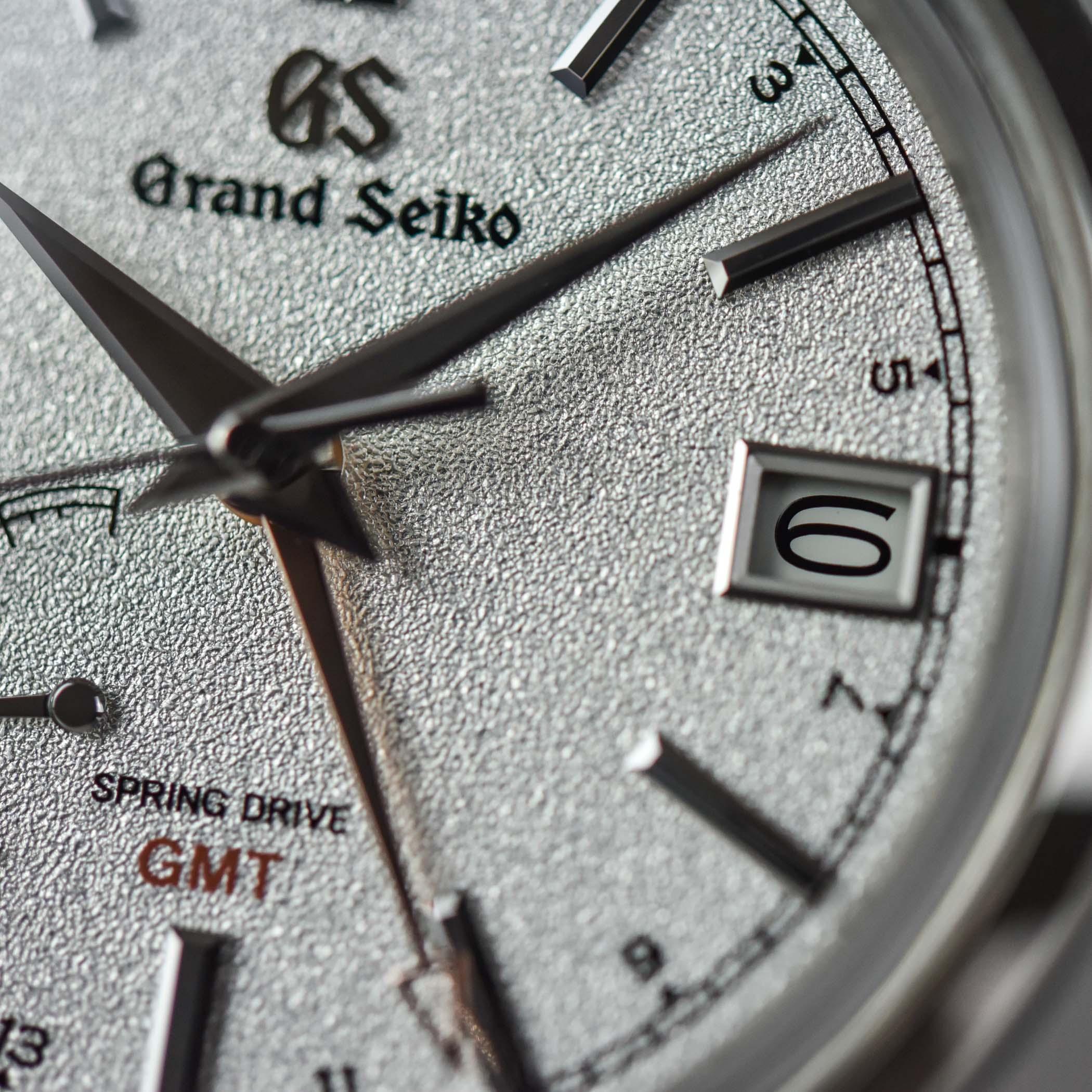 Grand Seiko Elegance GMT Spring Drive 4 seasons collection SBGE269
