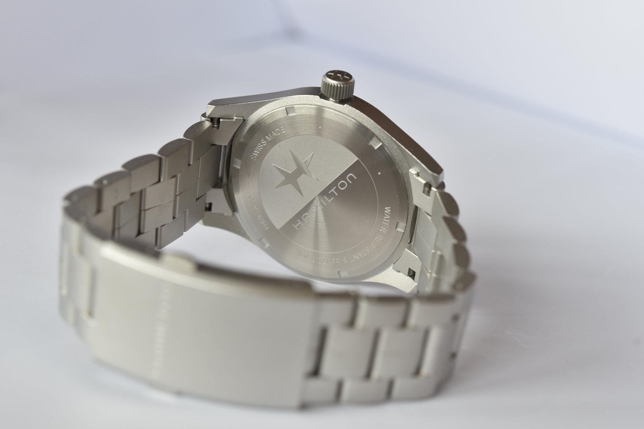 Hamilton Khaki Field Mechanical 42mm white dial 8