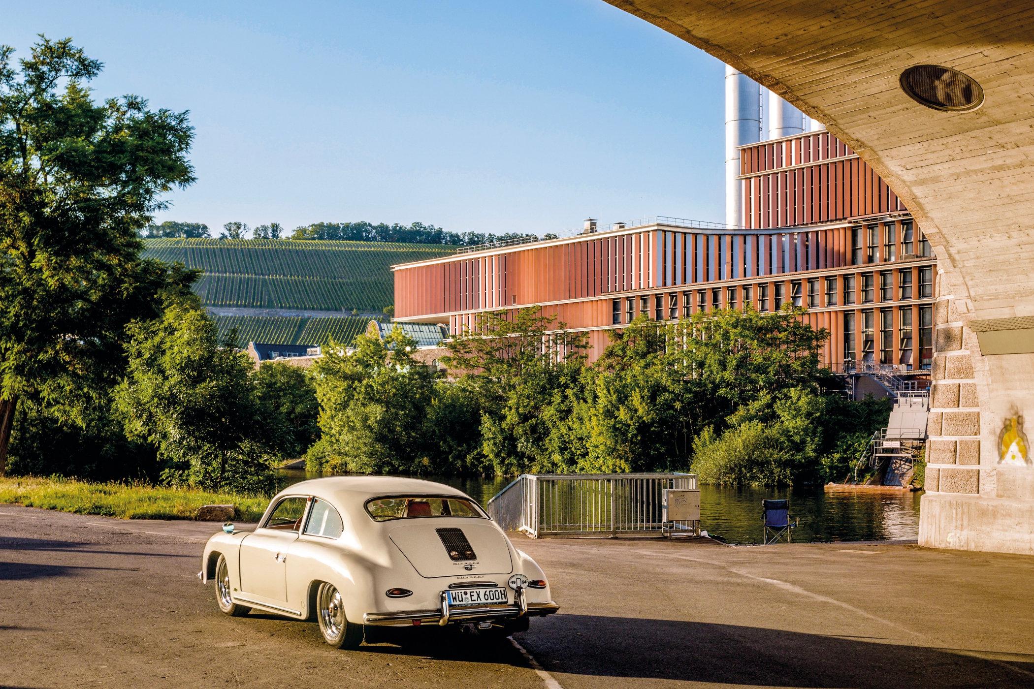 The rear section of the Miersch Porsche 356