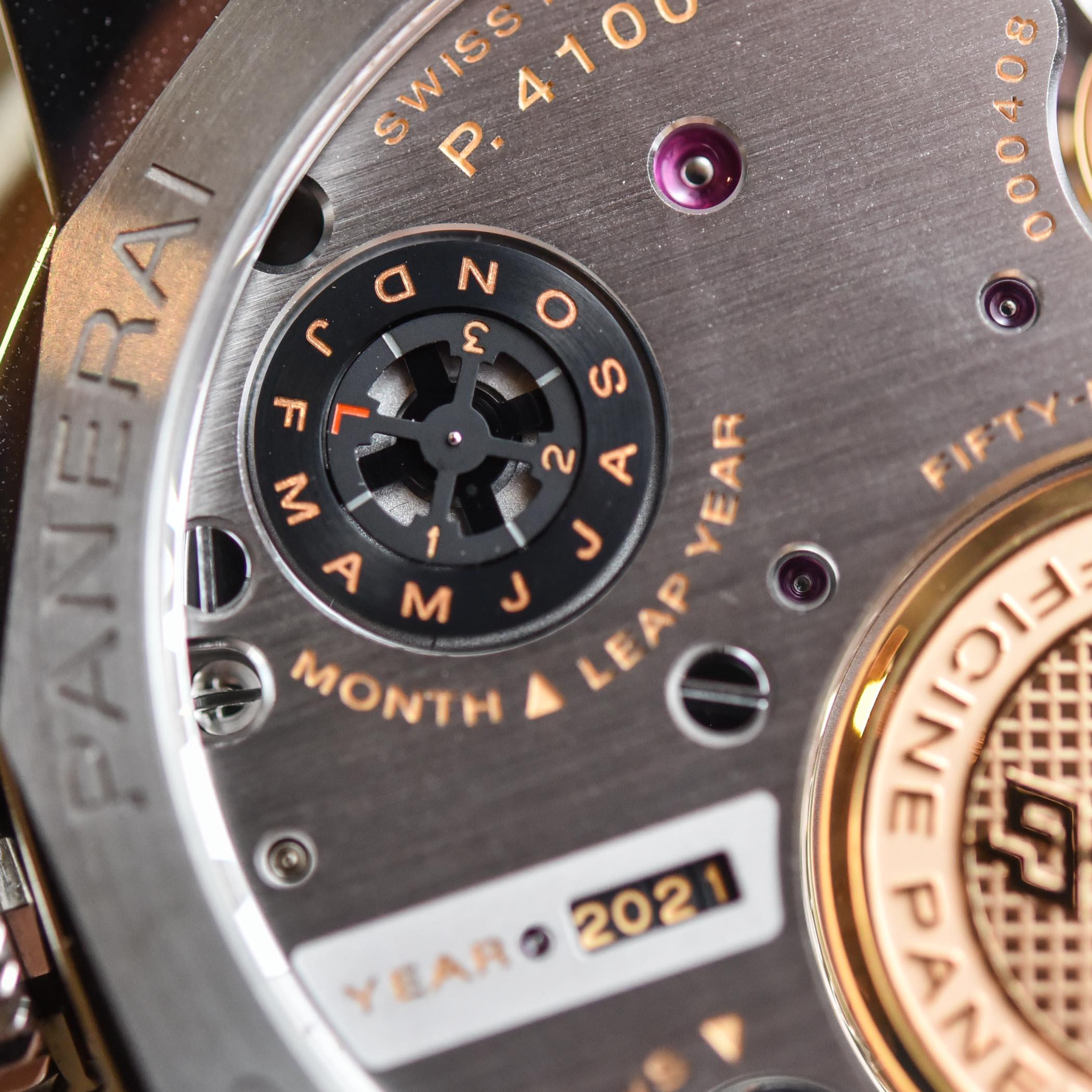 Panerai Luminor Perpetual Calendar Platinumtech PAM00715