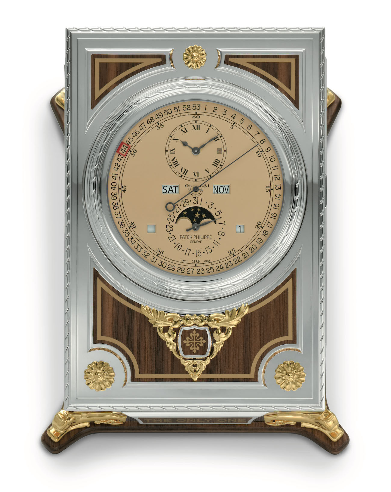 Patek Philippe Only Watch 2021 complicated desk clock 27001M-001