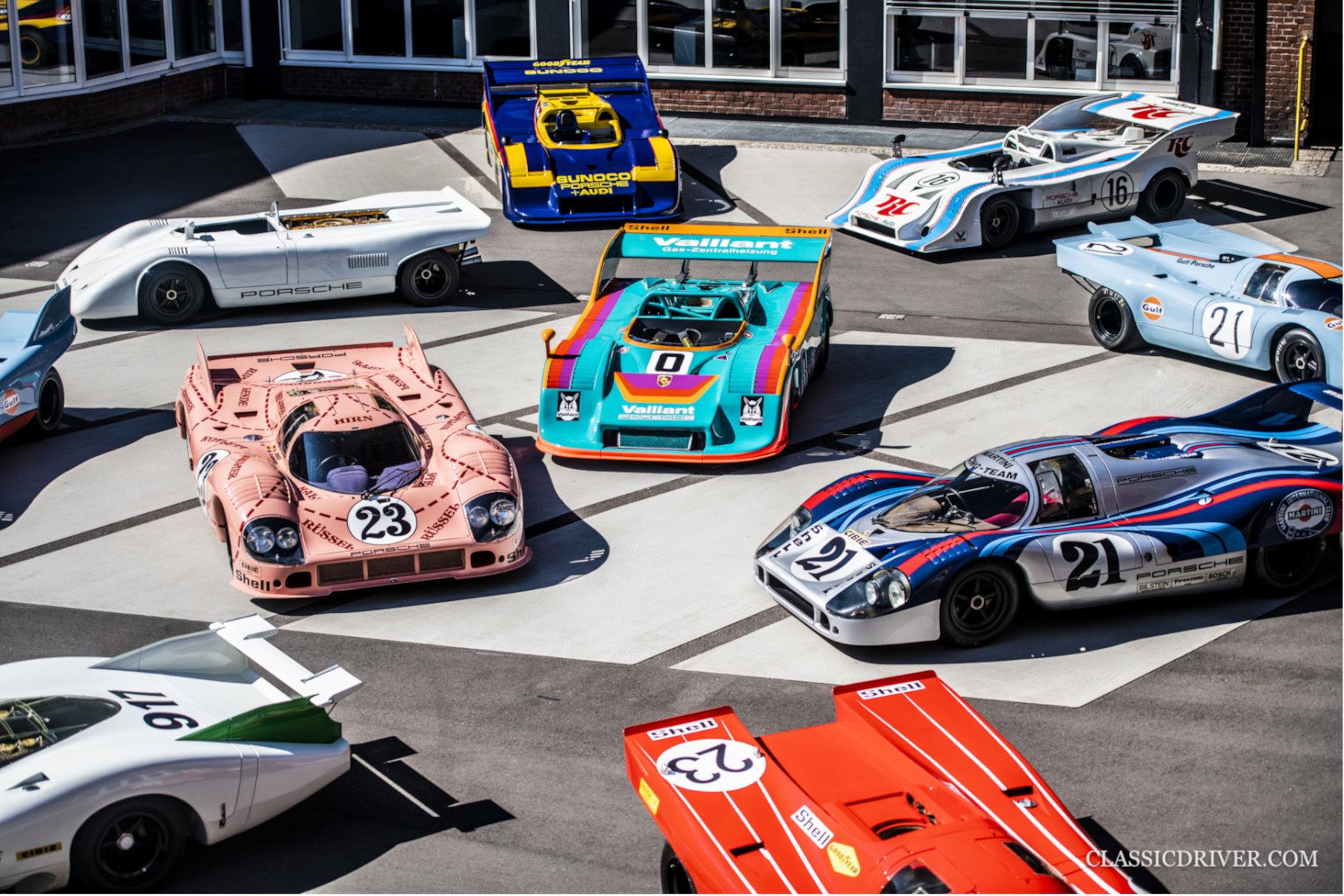 The Porsche 917 family