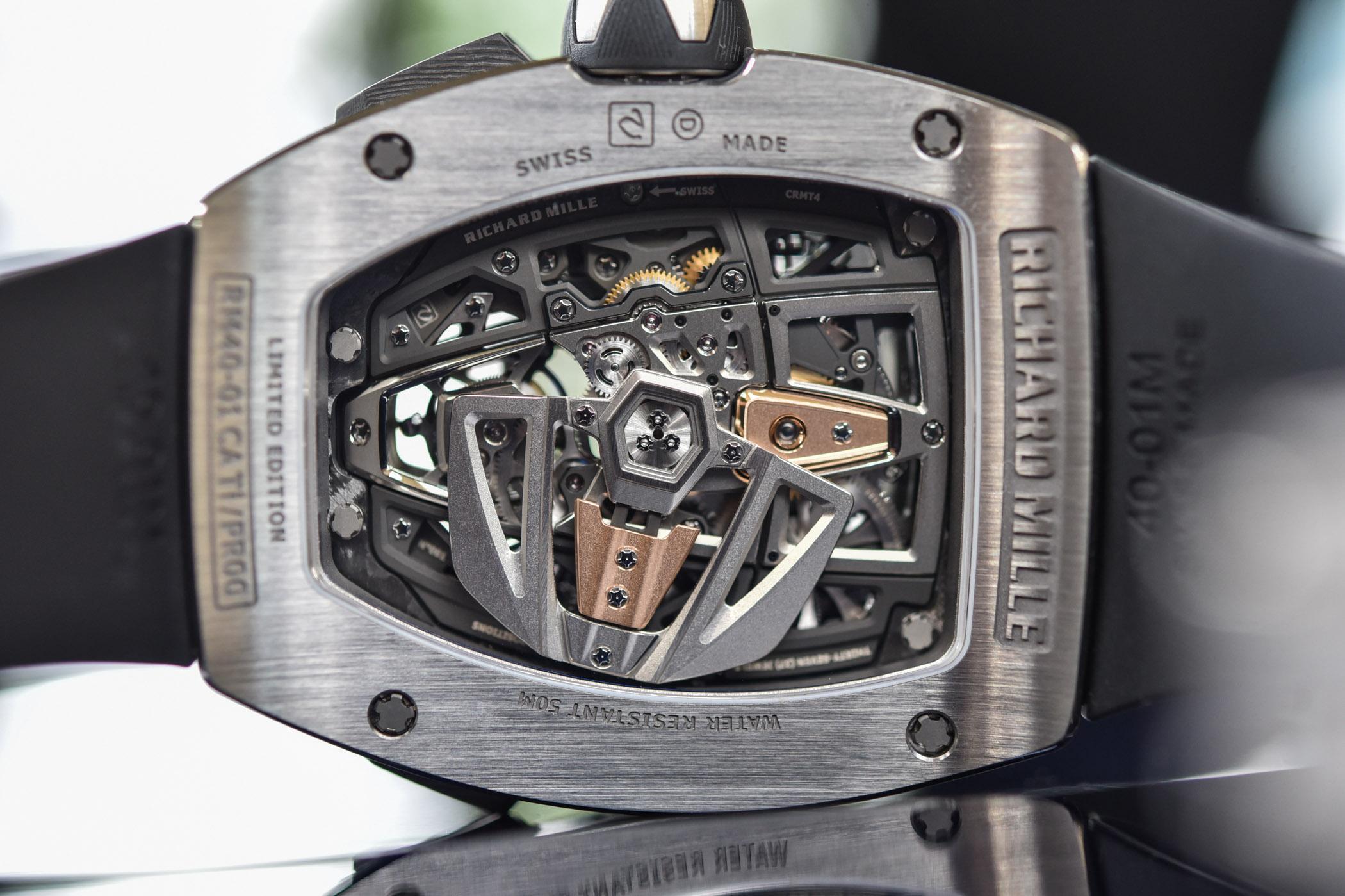 Richard Mille RM 40-01 Automatic Winding Tourbillon McLaren Speedtail