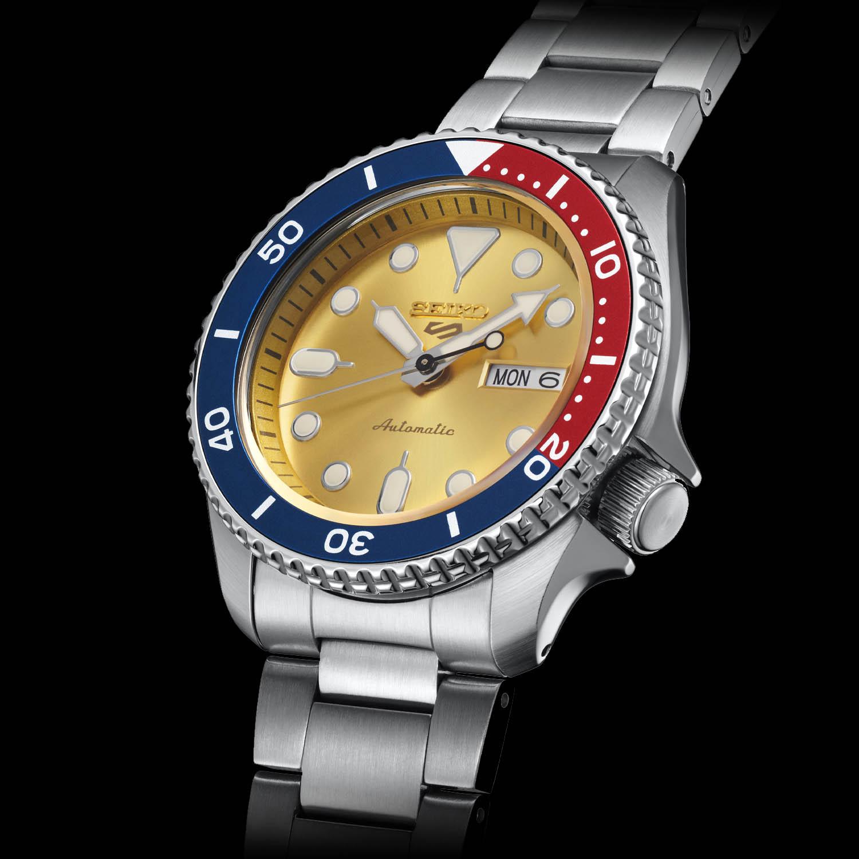 Seiko 5 Sports Custom Watch Beatmaker Limited Edition SRPH19K1