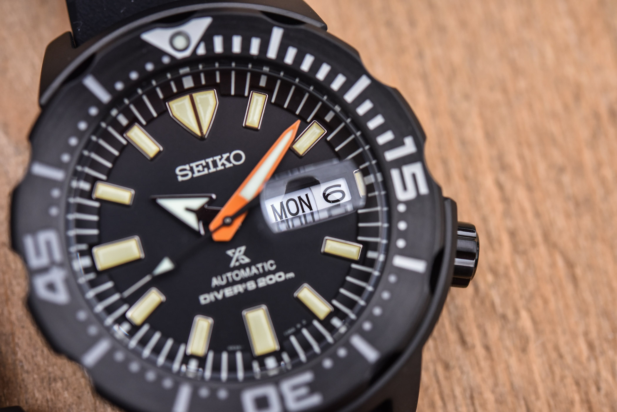 Seiko Prospex Black Series 2021 Samurai SRPH11K1 Monster SRPH13K1