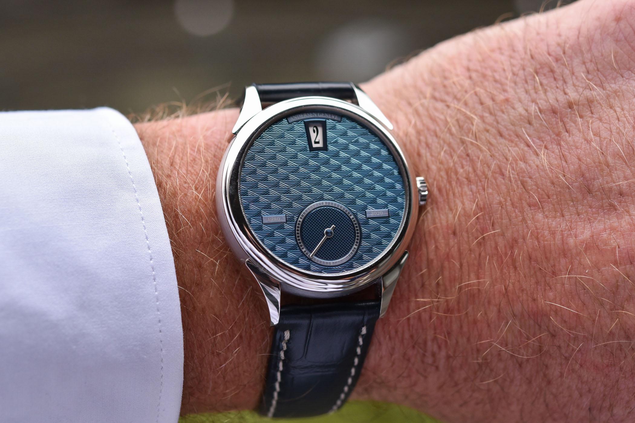Svend Andersen Geneve 40th anniversary - Jumping Hour Watch - 1