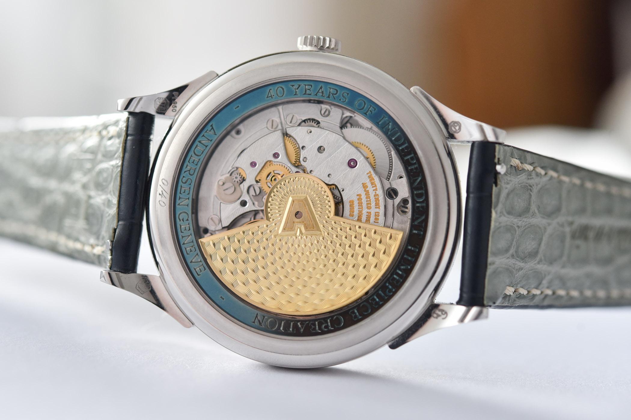 Svend Andersen Geneve 40th anniversary - Jumping Hour Watch - 6
