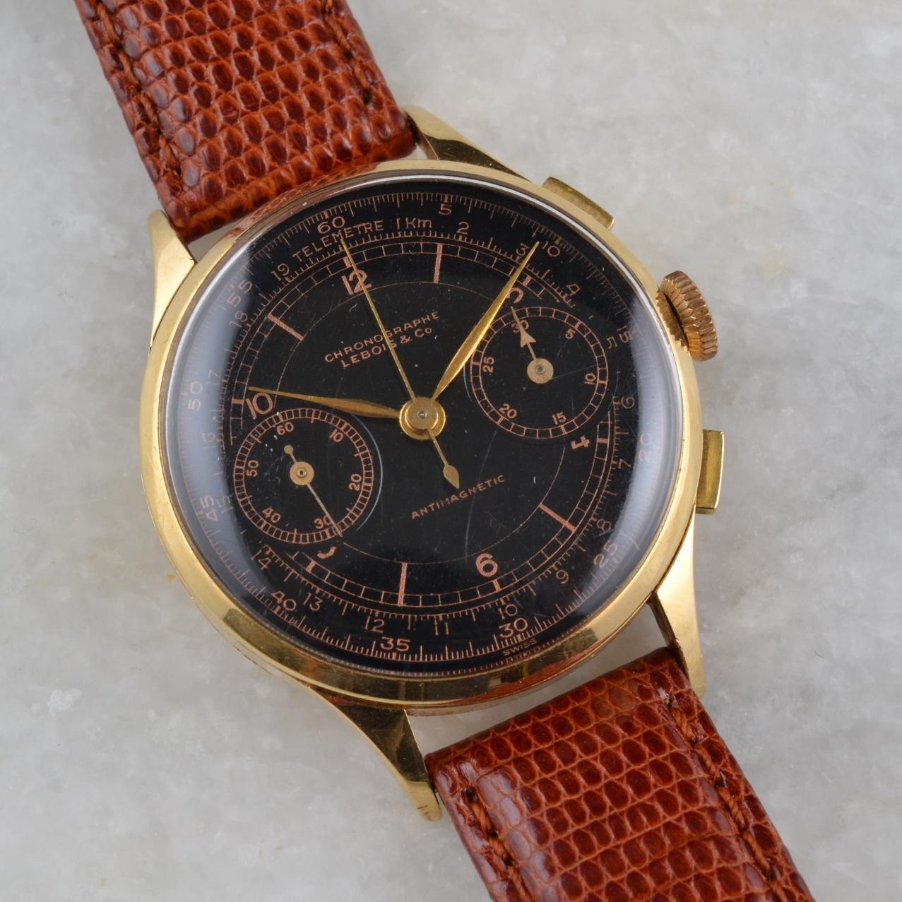 vintage lebois chronograph 3