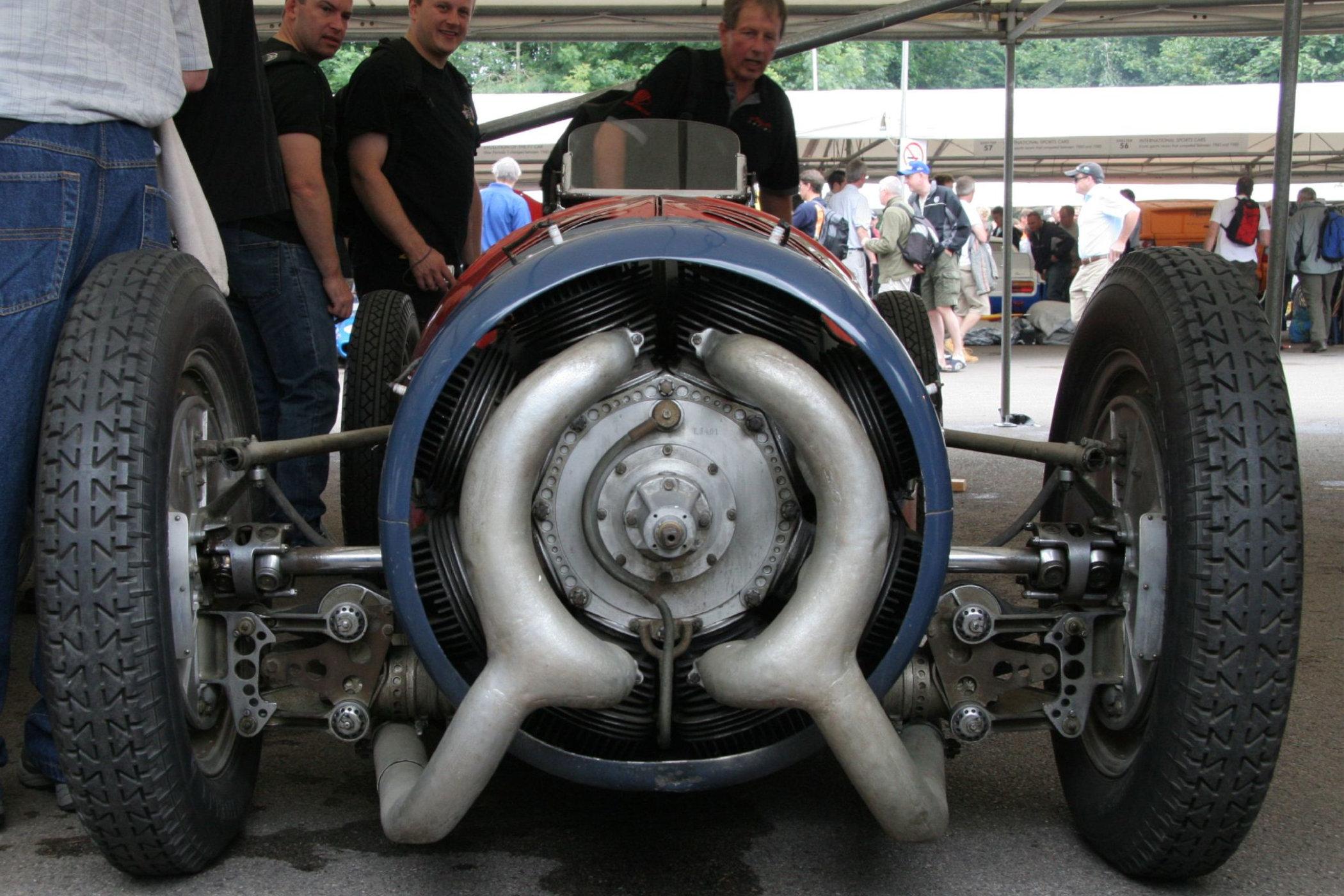 1935 Monaco-Trossi Grand Prix car with Radial Engine 2
