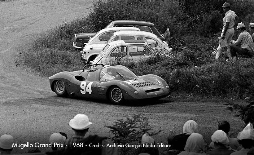 1966 Abarth 1000 SP - 3