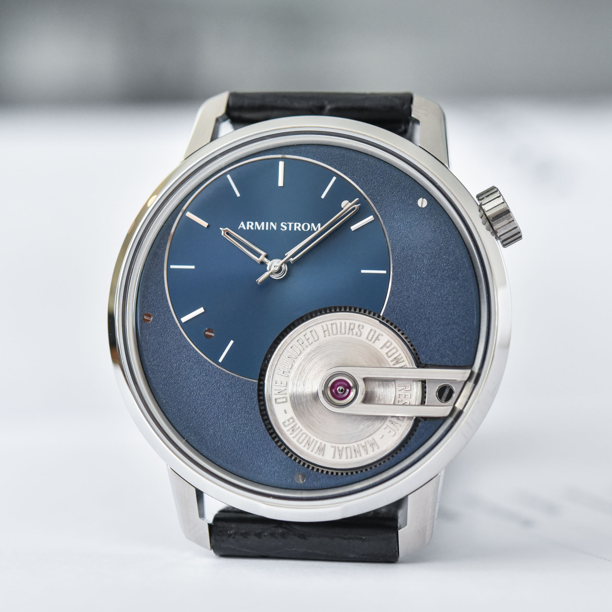 Armin Strom Tribute 1 Limited Edition blue