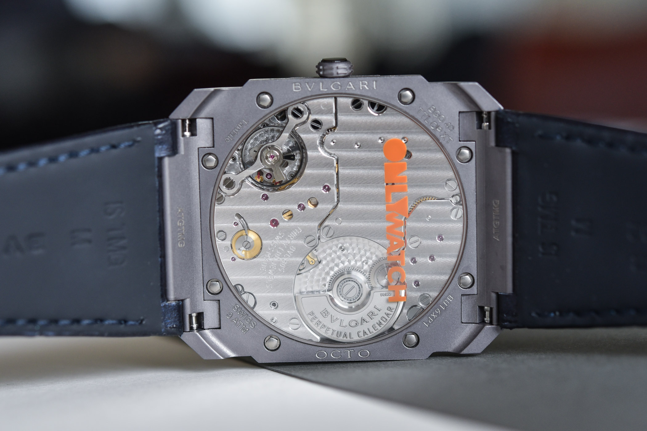 Bvlgari Octo Finissimo Perpetual Calendar Tantalum for Only Watch 2021