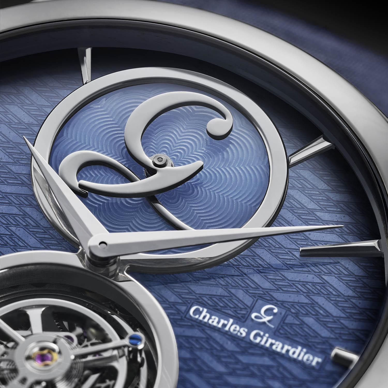 Charles Girardier 1809 Cobalt Blue 41mm