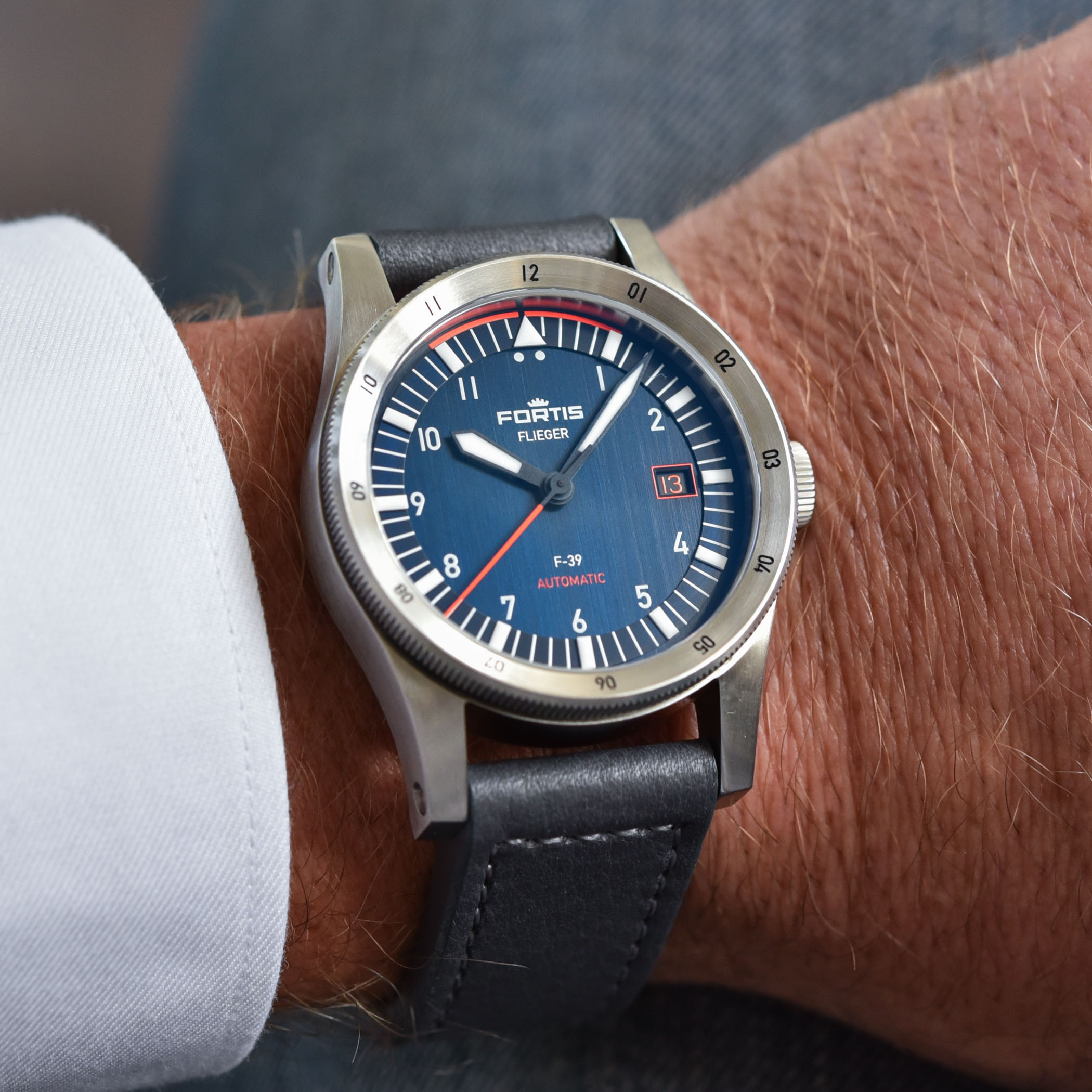 Fortis Flieger F-39 and F-41 Midnight Blue