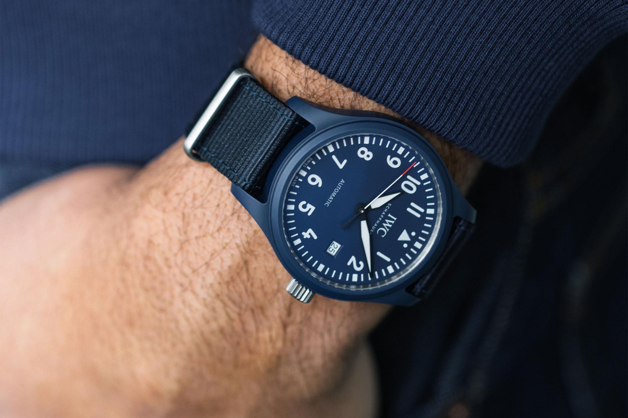 IWC Pilot's Watch Automatic Edition Laureus Blue Ceramic IW328101