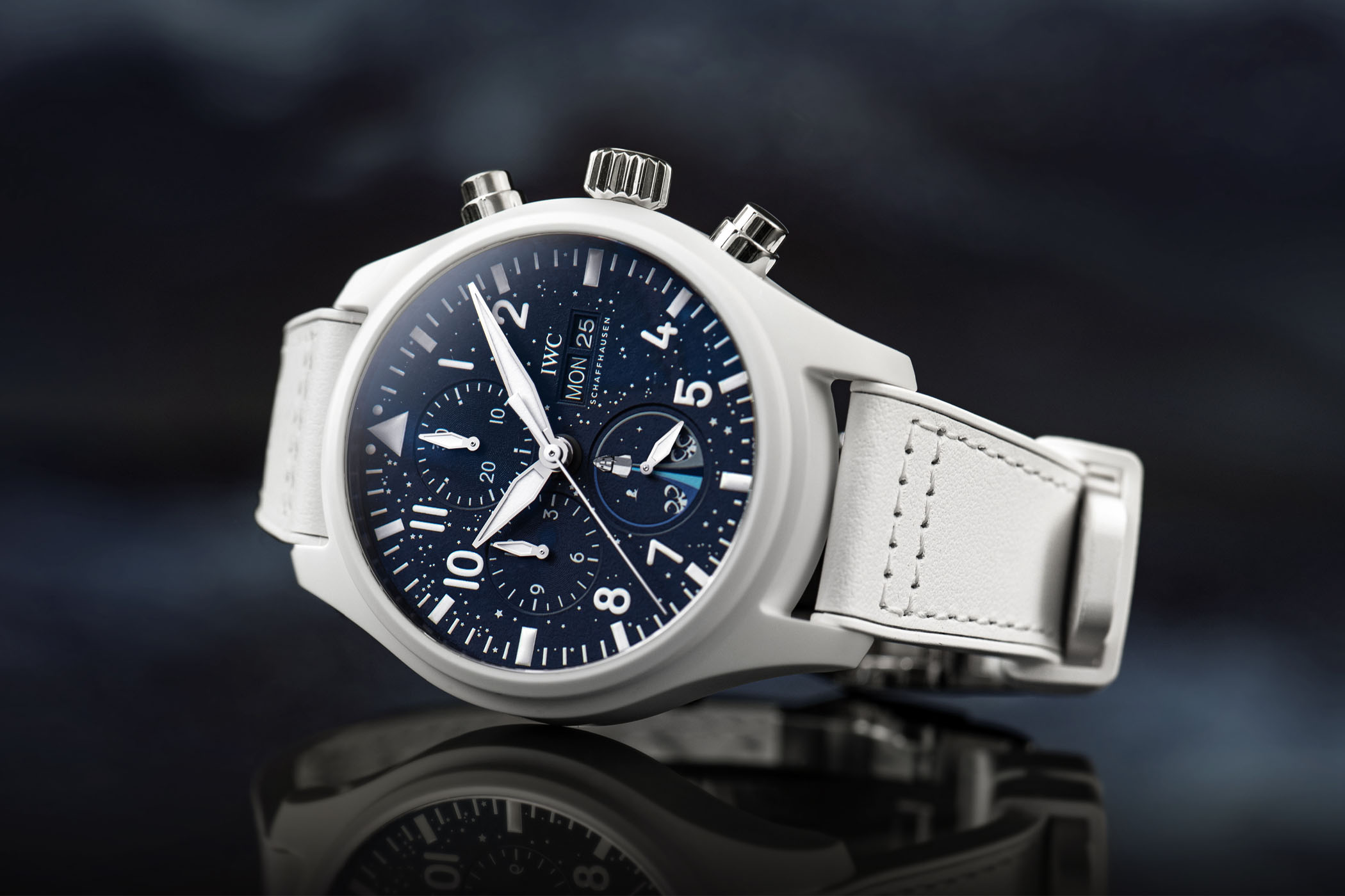 IWC Pilot's Watch Chronograph Edition Inspiration4 Space Watches White Ceramic IW389110