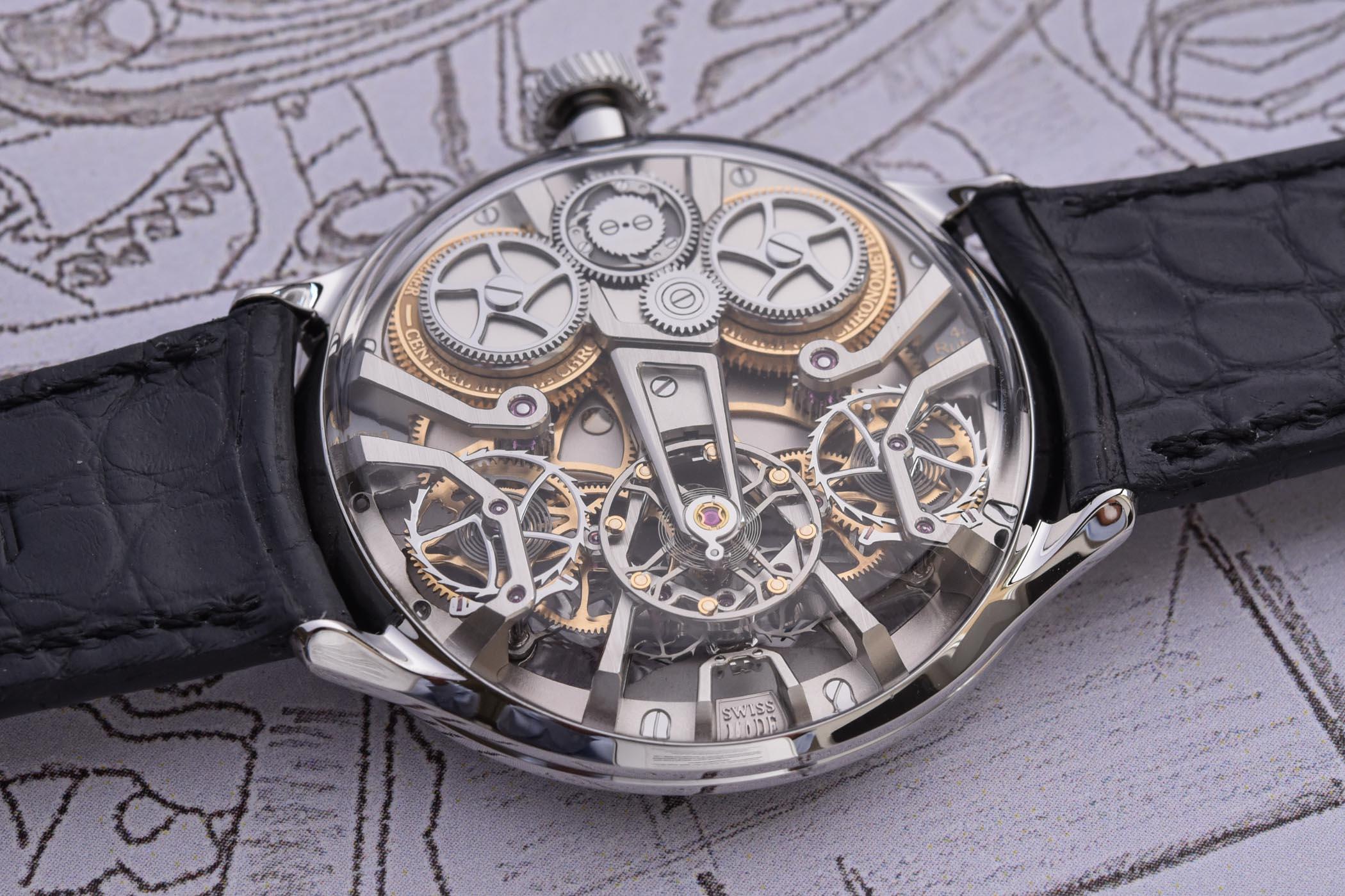 Bernhard Lederer Central Impulse Chronometer Final Version