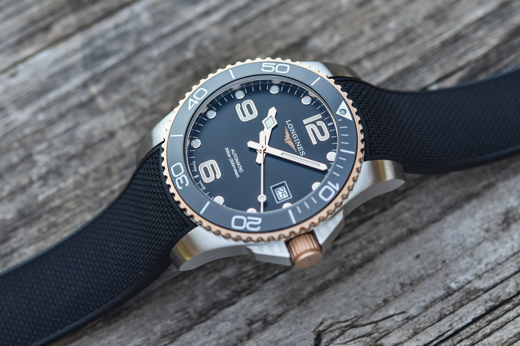 Longines HydroConquest 41mm Two-Tone Collection 2021
