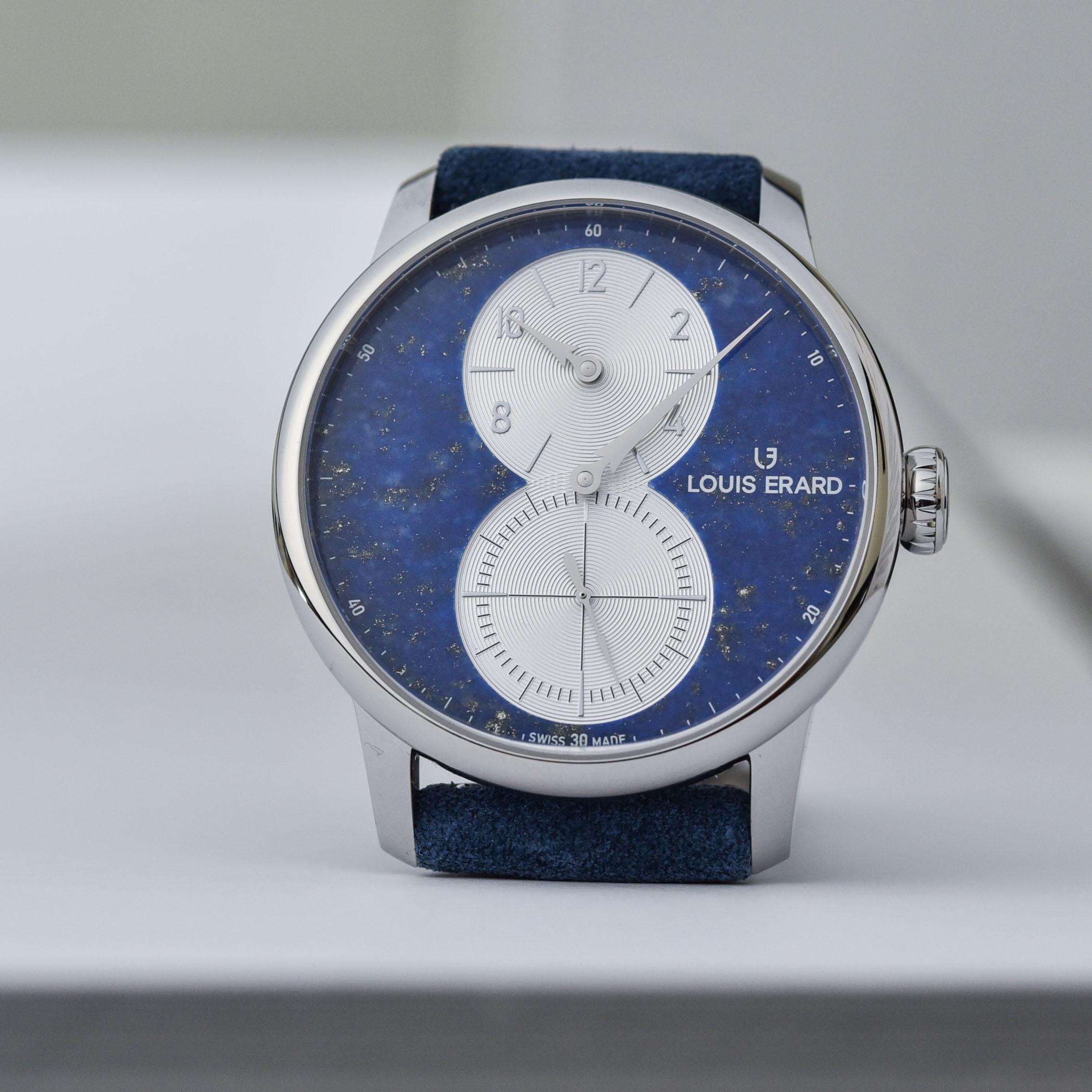 Louis Erard Excellence Regulateur Aventurine Lapis-Lazuli Malachite limited edition