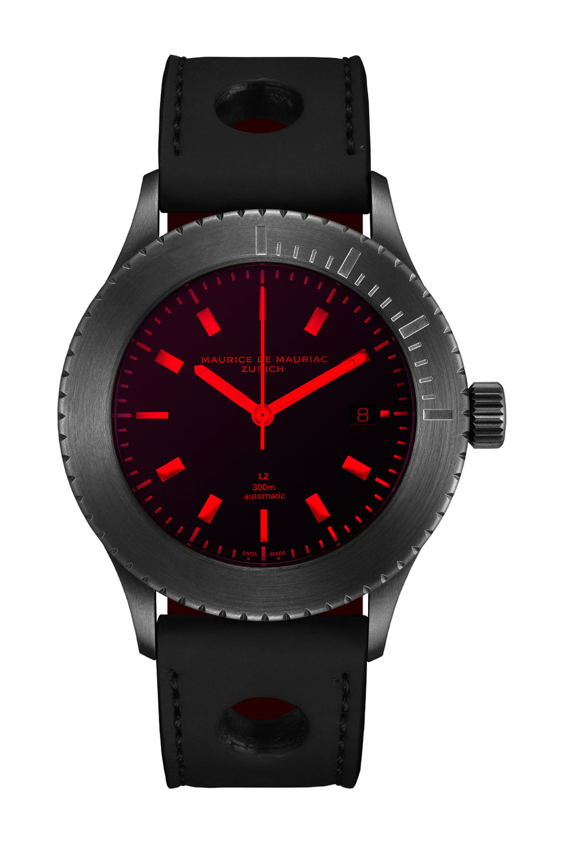 Maurice de Mauriac L2 Red Sea Dive Watch