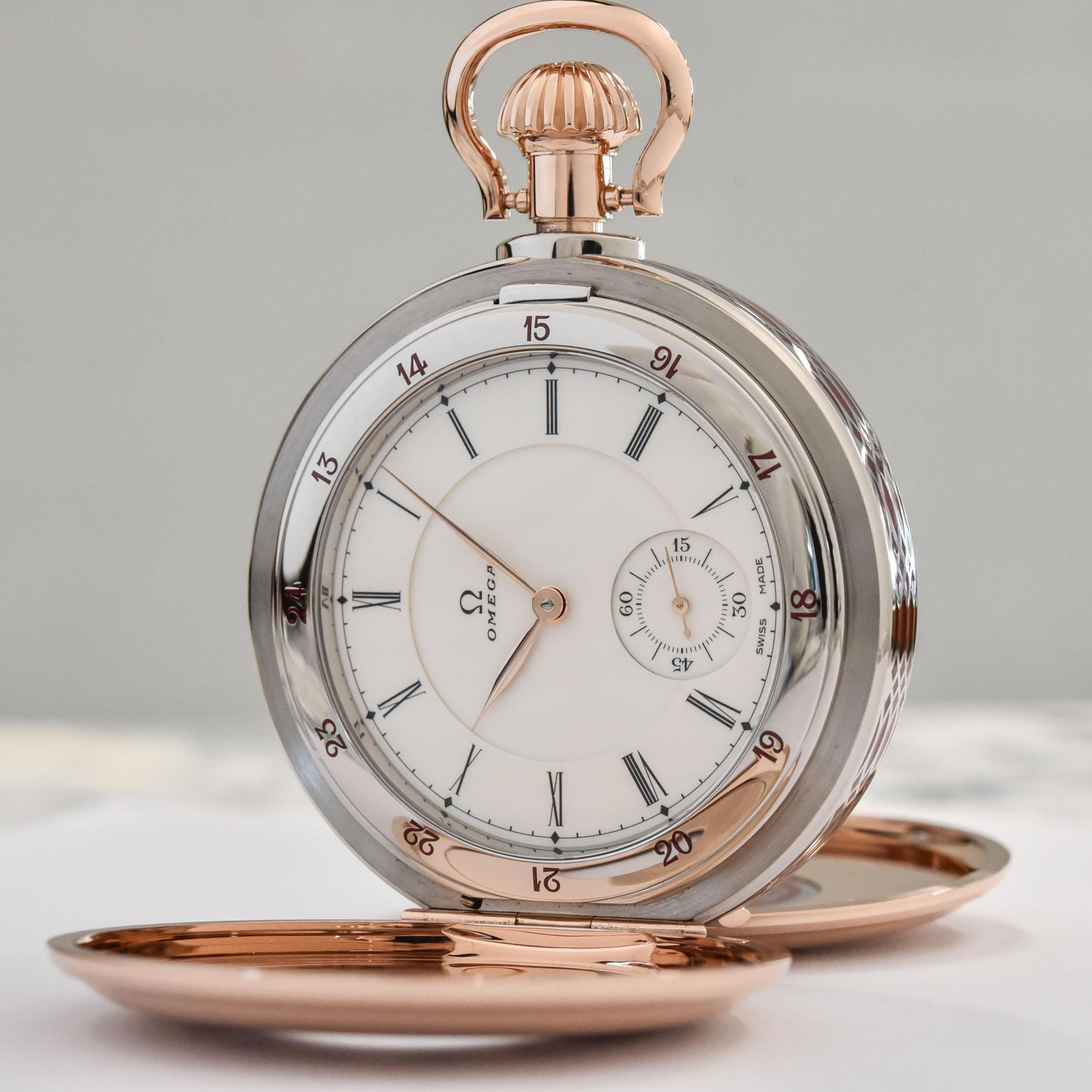 Omega 125th Anniversary Pocket Watch 19-Ligne Calibre 518.62.60.00.04.001