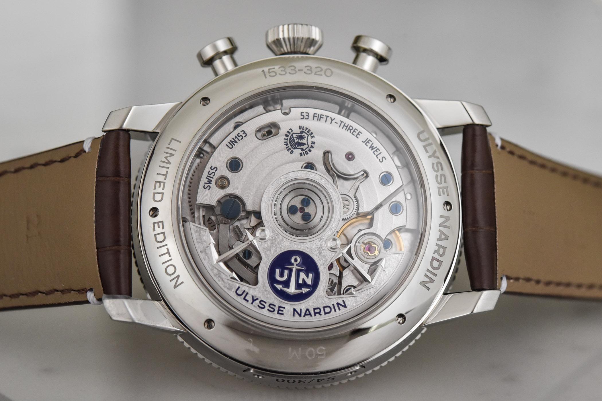 Ulysse Nardin Marine Torpilleur Annual Chronograph 44mm 1533-320LE-0A-175:1A- 4