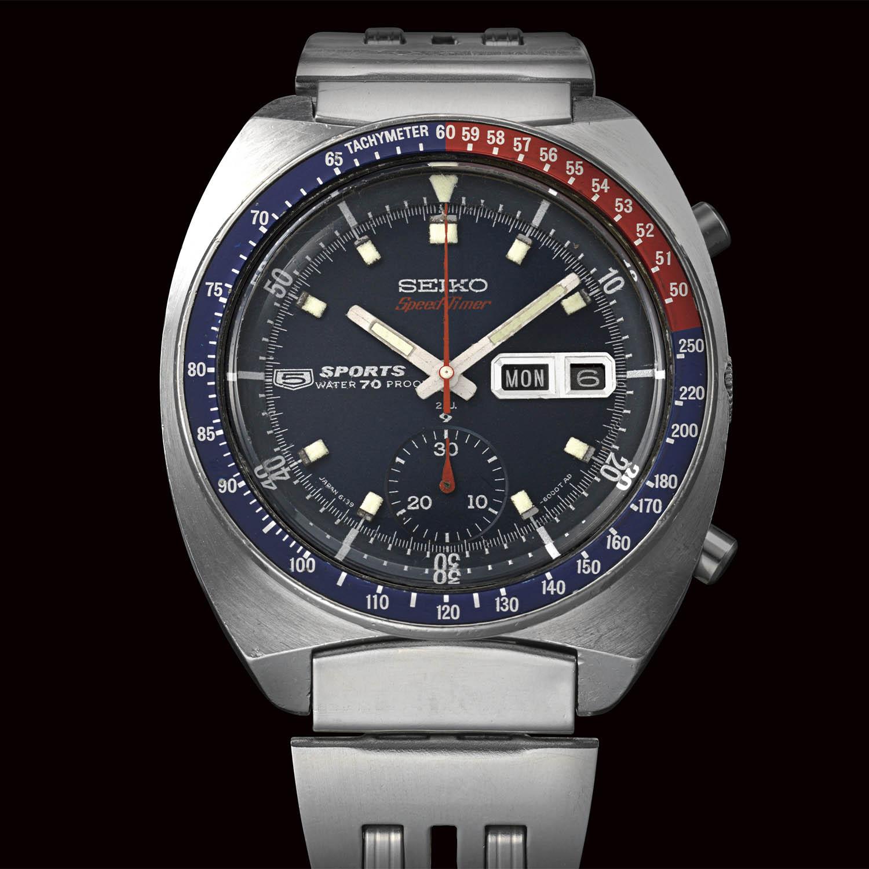 1969 Vintage Seiko Speedtimer automatic chronograph - 1