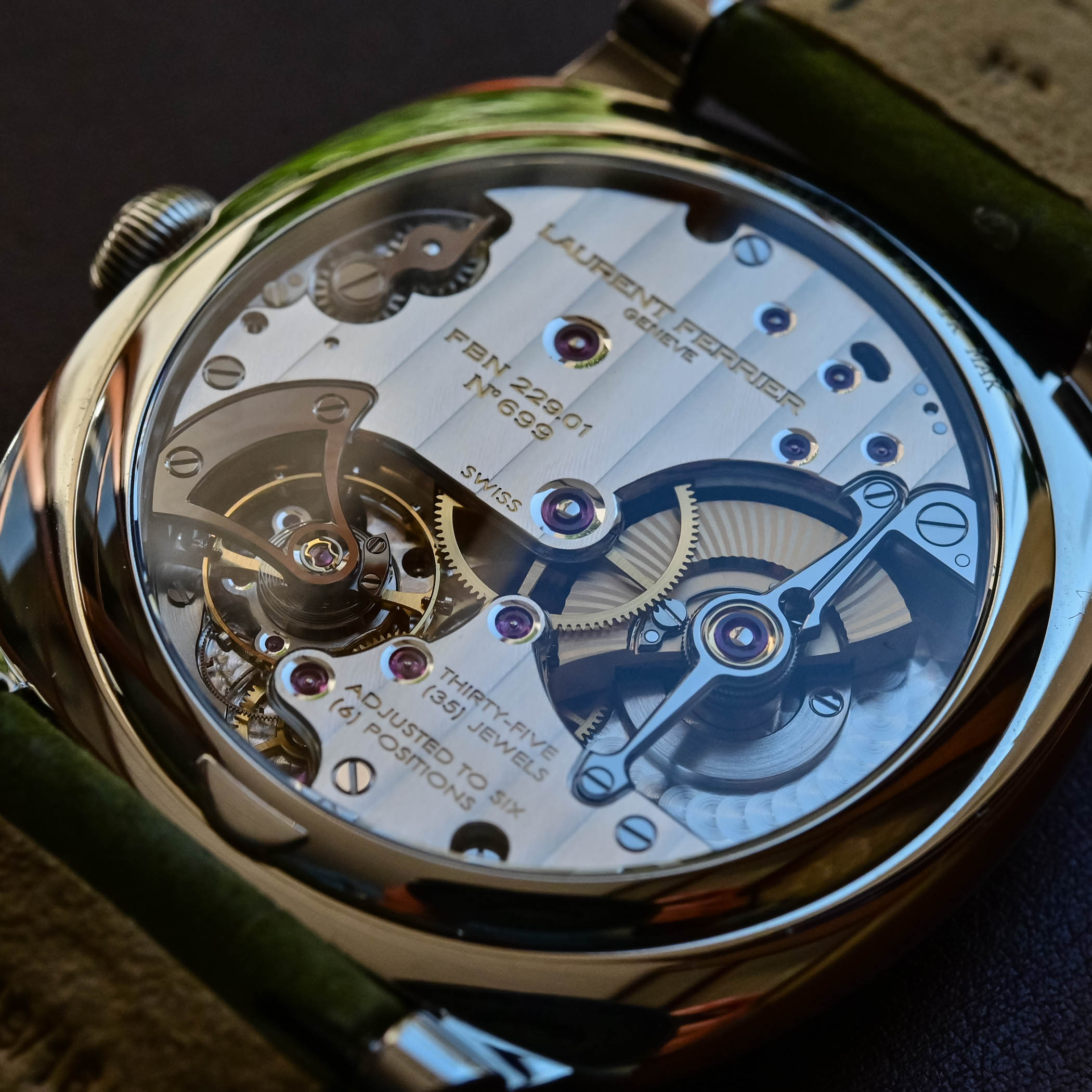 2021 Laurent Ferrier Square Micro-Rotor Retro Watches - Hands-on - 2