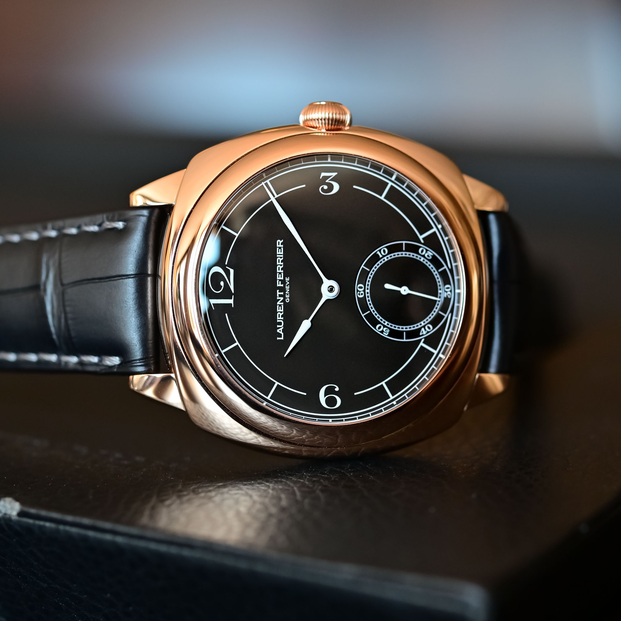 2021 Laurent Ferrier Square Micro-Rotor Retro Watches - Hands-on - 5