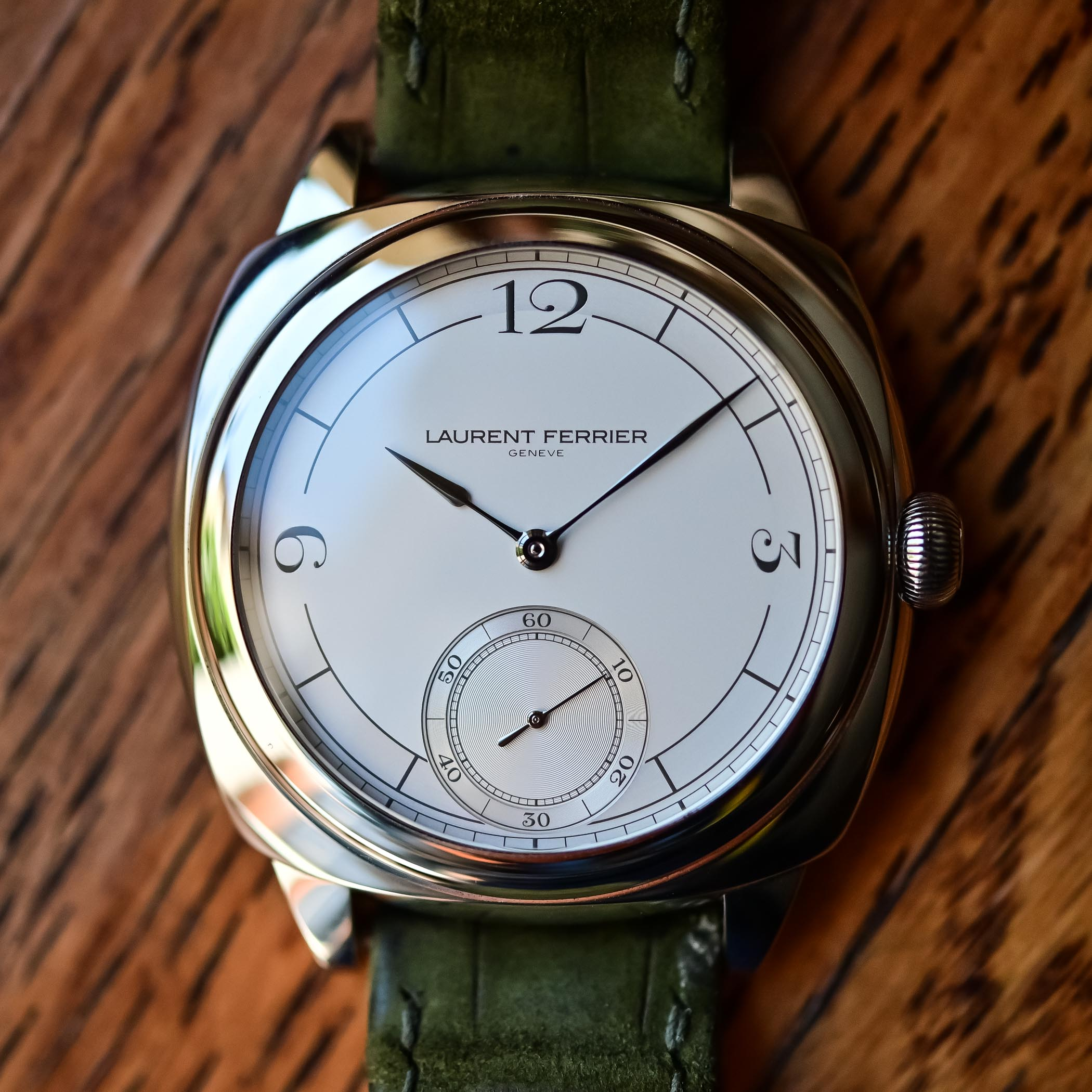 2021 Laurent Ferrier Square Micro-Rotor Retro Watches - Hands-on - 9